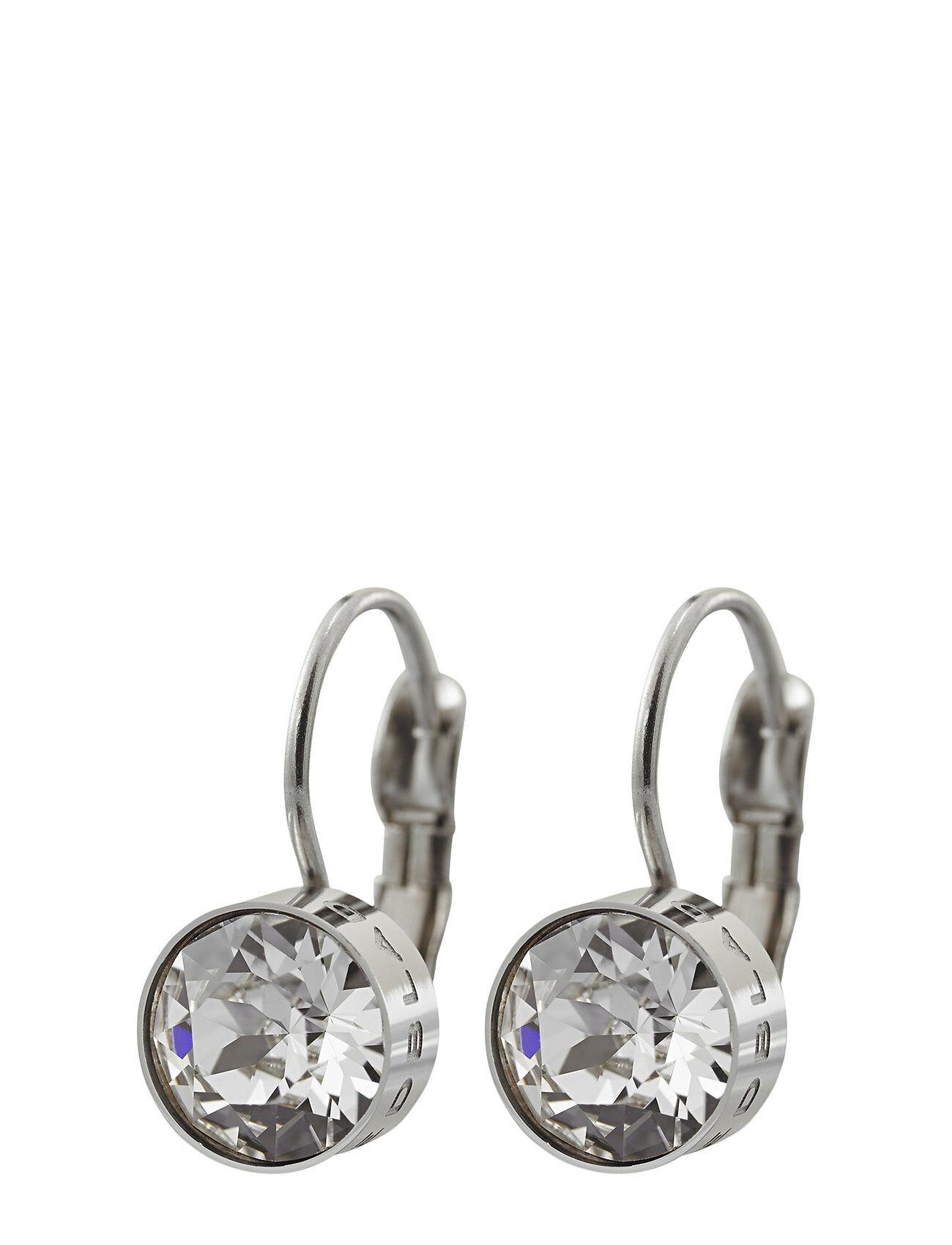 Edblad Diana Earrings Clear Crystal Steel Korvakoru Korut Hopea Edblad
