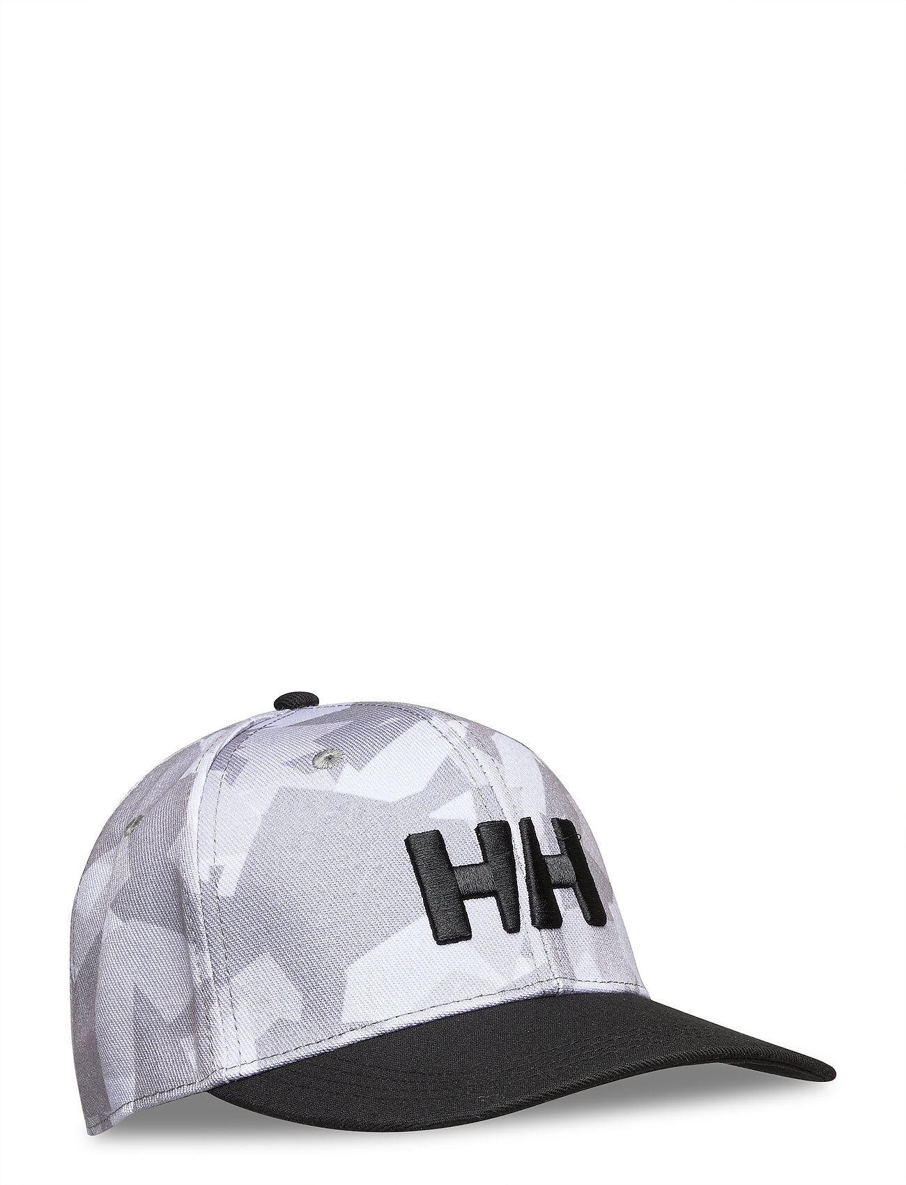Helly Hansen Hh Brand Cap Accessories Headwear Caps Harmaa Helly Hansen
