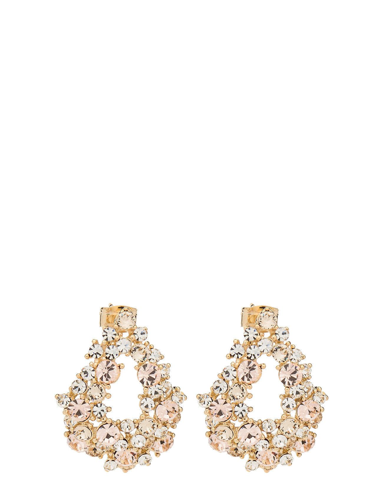 LILY AND ROSE Alice Earrings - Light Silk Korvakoru Korut Kulta LILY AND ROSE