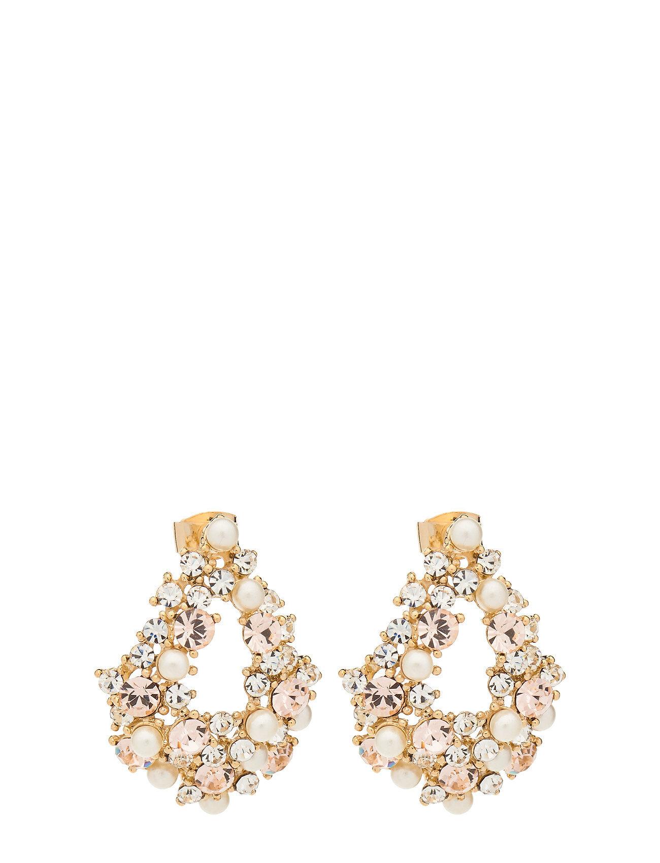 LILY AND ROSE Alice Pearl Earrings - Ivory Silk Korvakoru Korut Kulta LILY AND ROSE