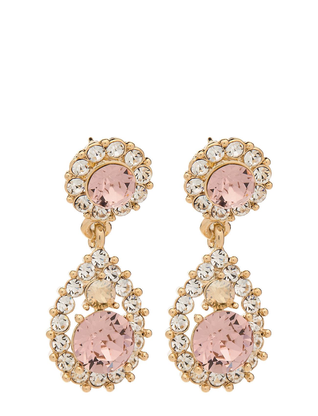 LILY AND ROSE Sofia Earrings - Champagne Korvakoru Korut Vaaleanpunainen LILY AND ROSE