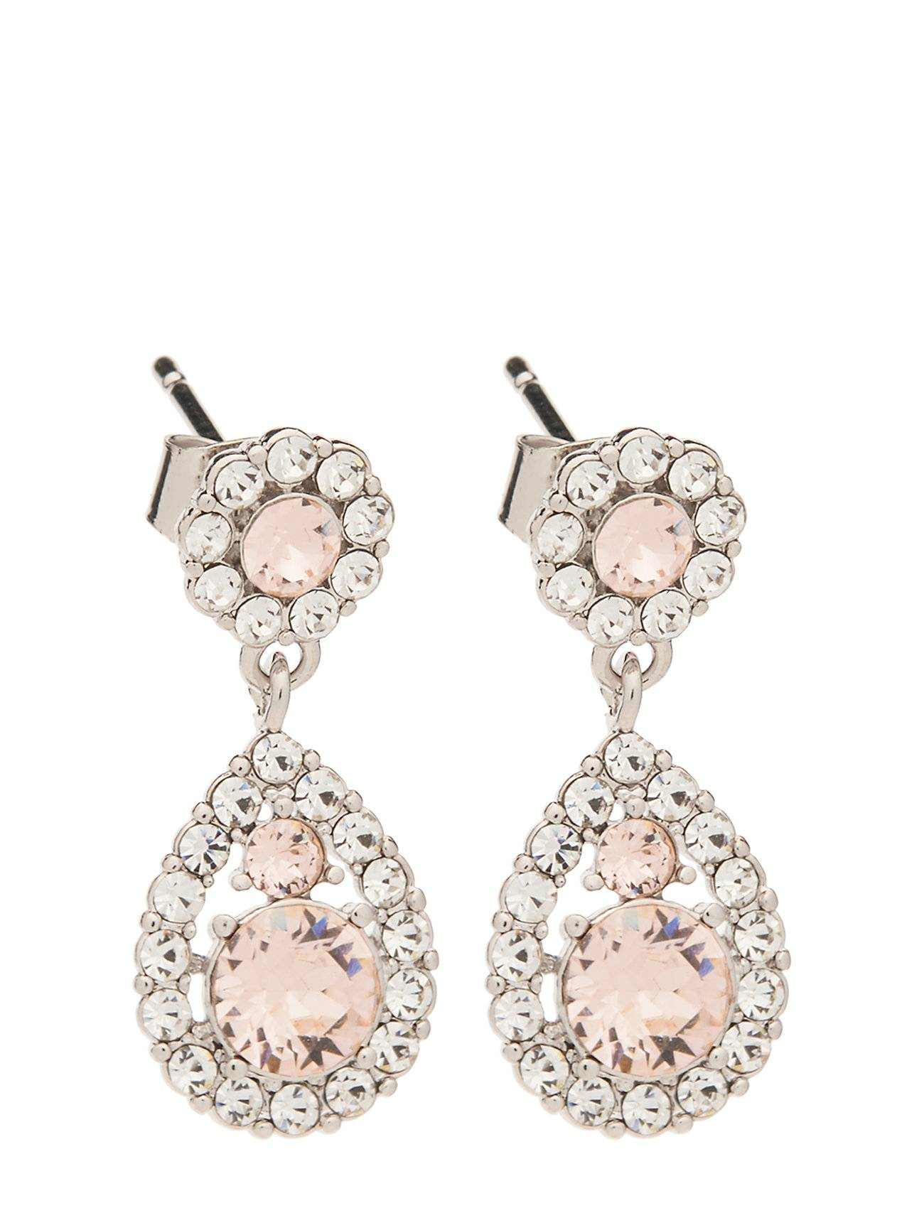 LILY AND ROSE Petite Sofia Earrings - Silk Korvakoru Korut Vaaleanpunainen LILY AND ROSE