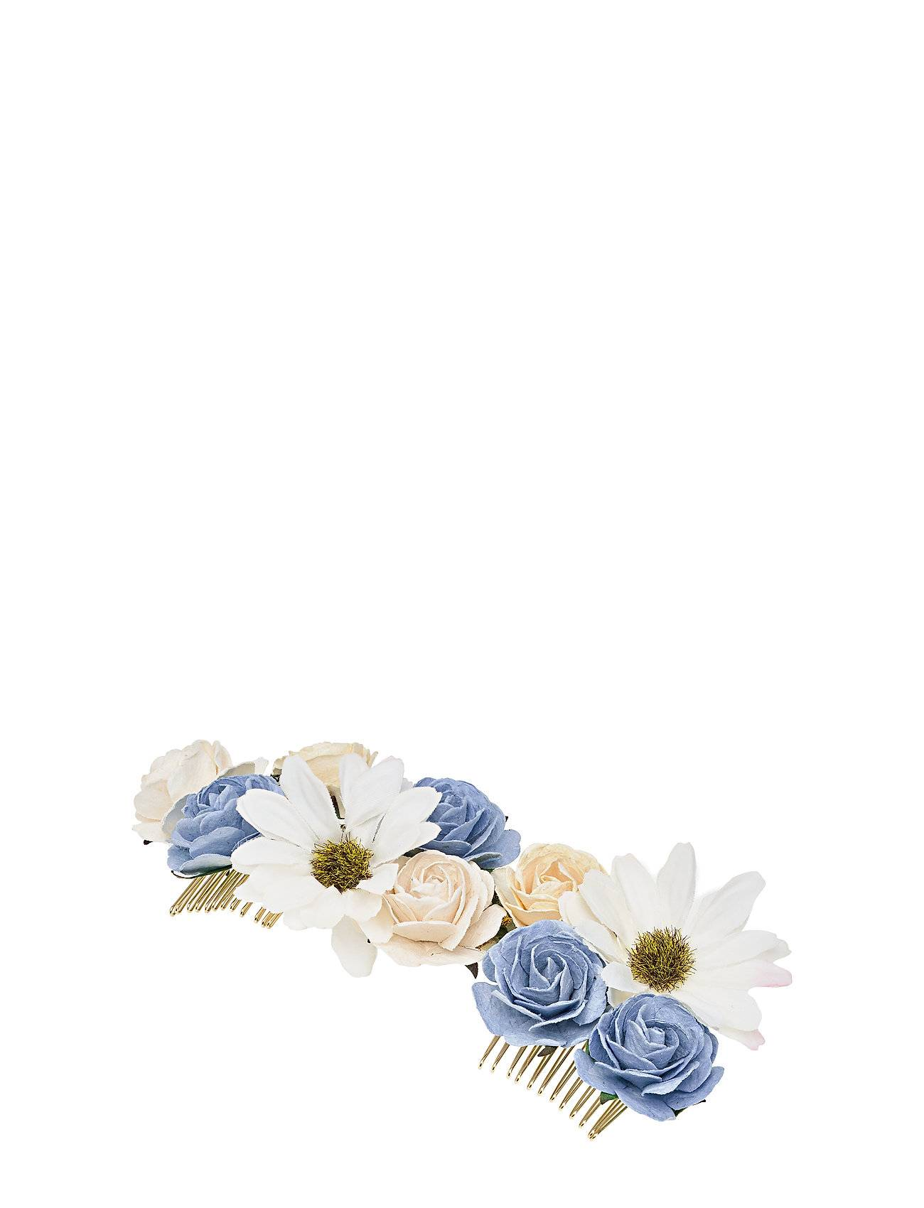 LILY AND ROSE Rosie Hairpiece - Light Sapphire Hiustarvikkeet Sininen LILY AND ROSE