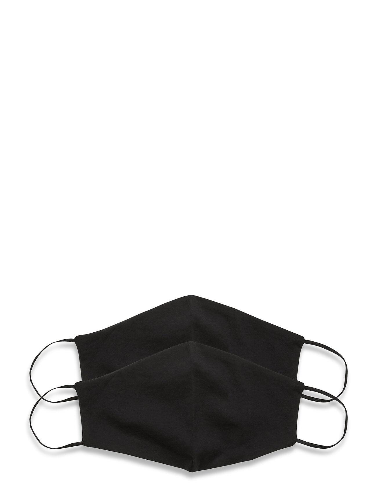 ORAS24 Reusable Face Mask 2 Pack Accessories Face Masks Musta ORAS24