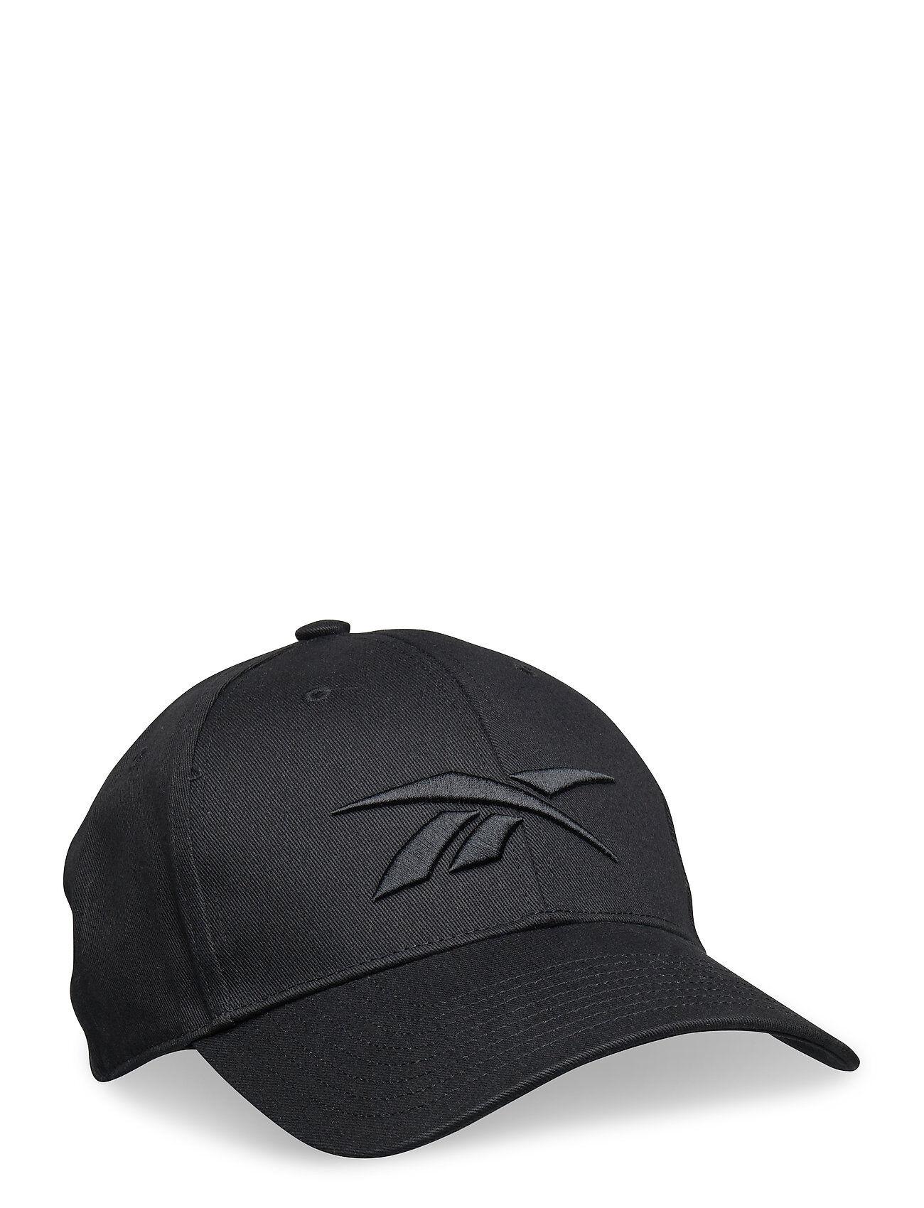Reebok Performance Ubf Baseb Cap Accessories Headwear Caps Musta Reebok Performance