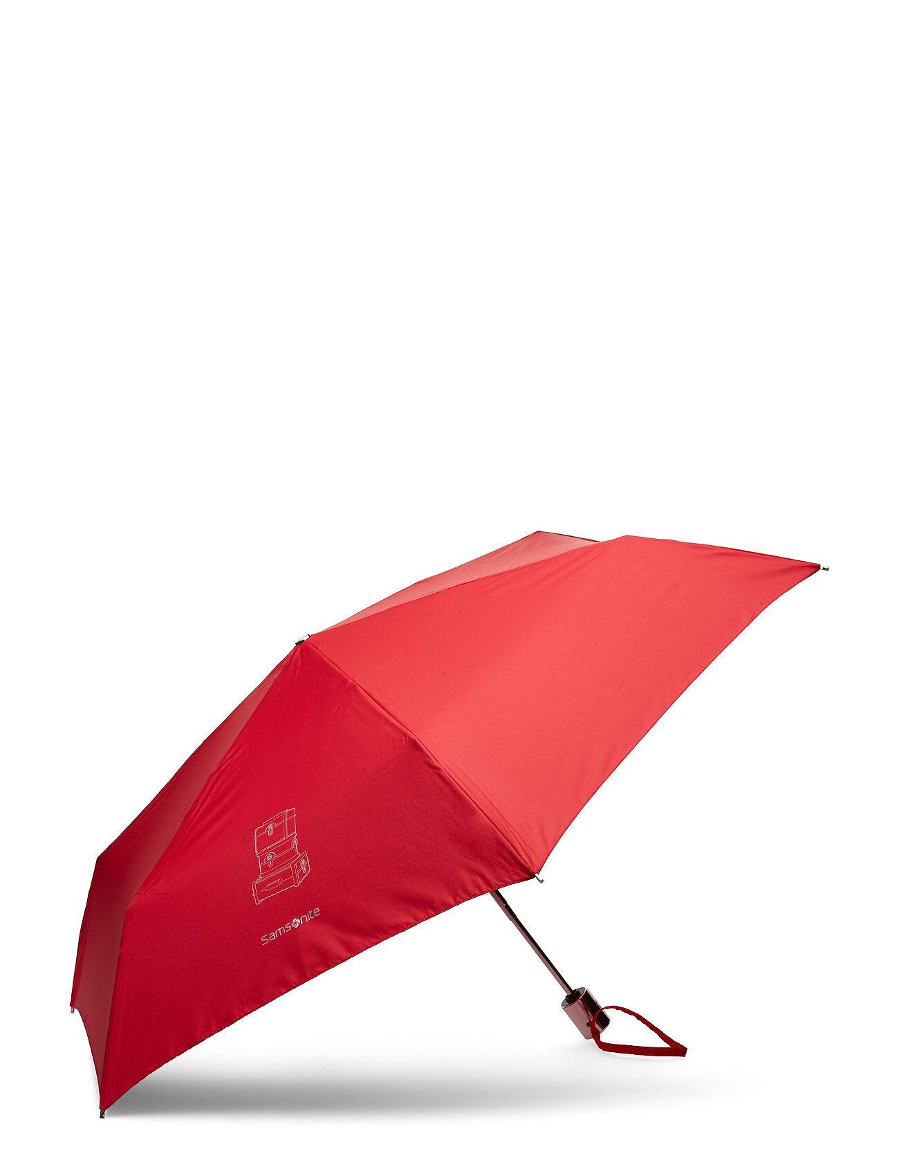 Samsonite Karissa Umbrellas Auto Sateenvarjo Punainen
