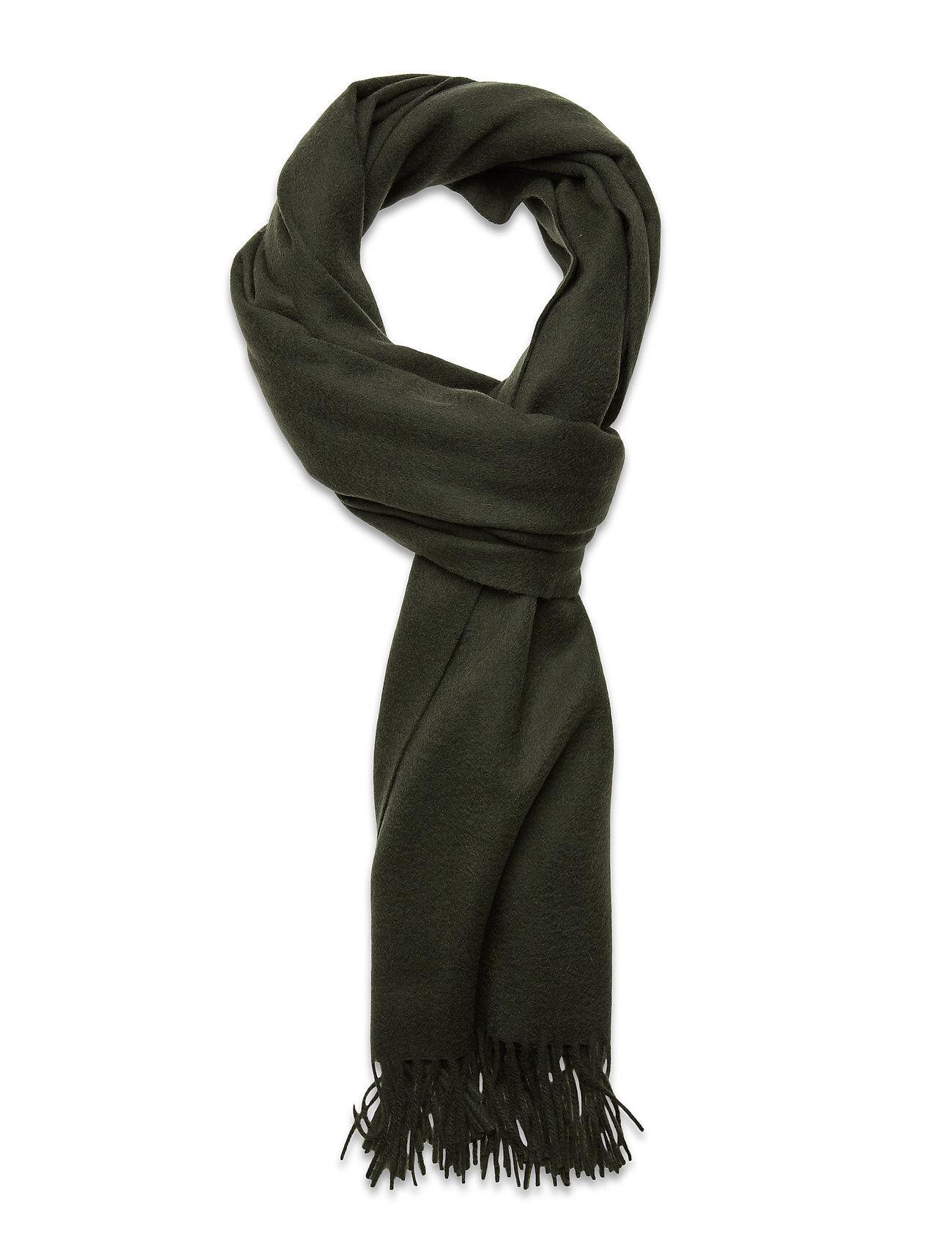 Selected Femme Slftime Wool Scarf B Huivi Vihreä Selected Femme