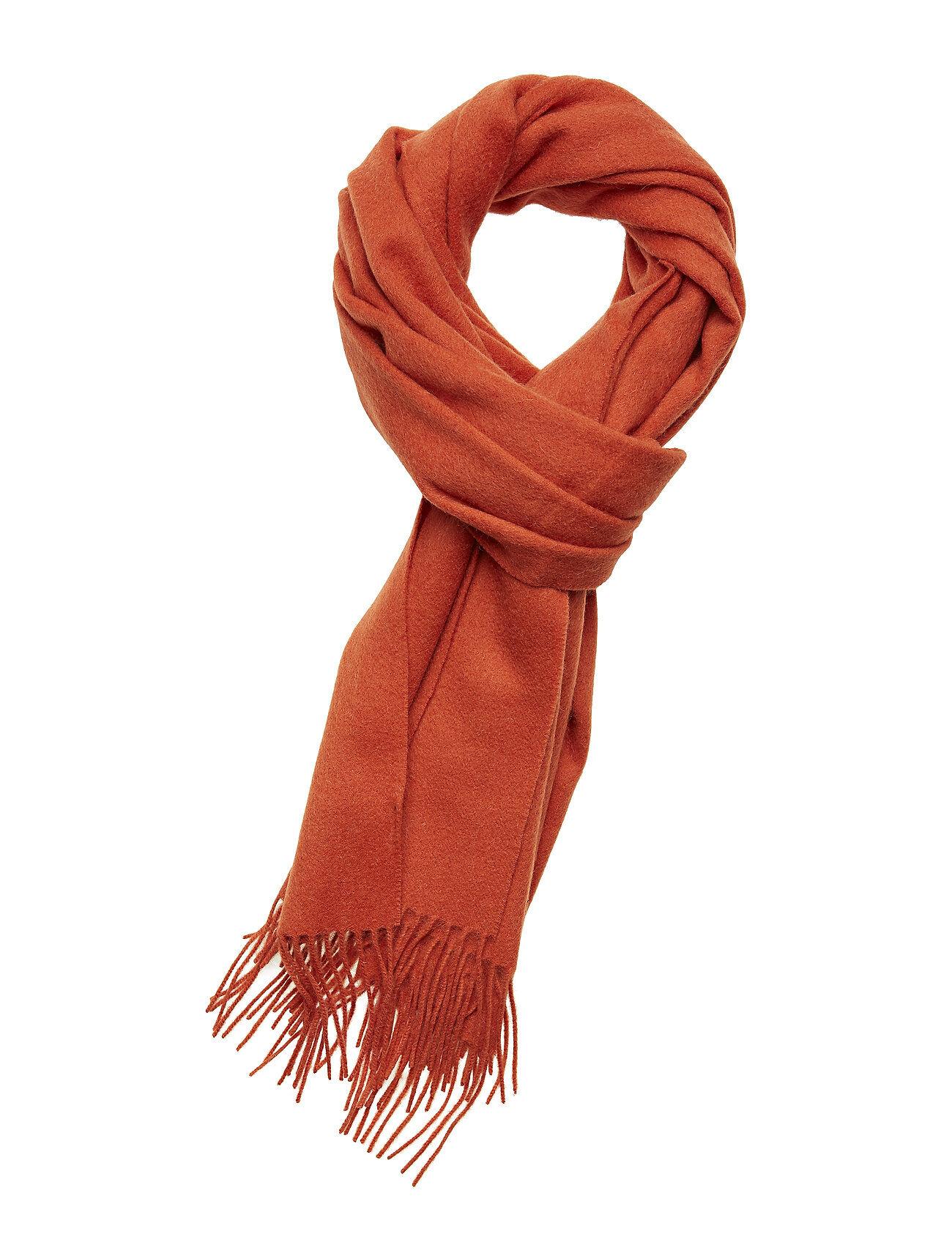 Selected Femme Slftime Wool Scarf B Huivi Oranssi Selected Femme