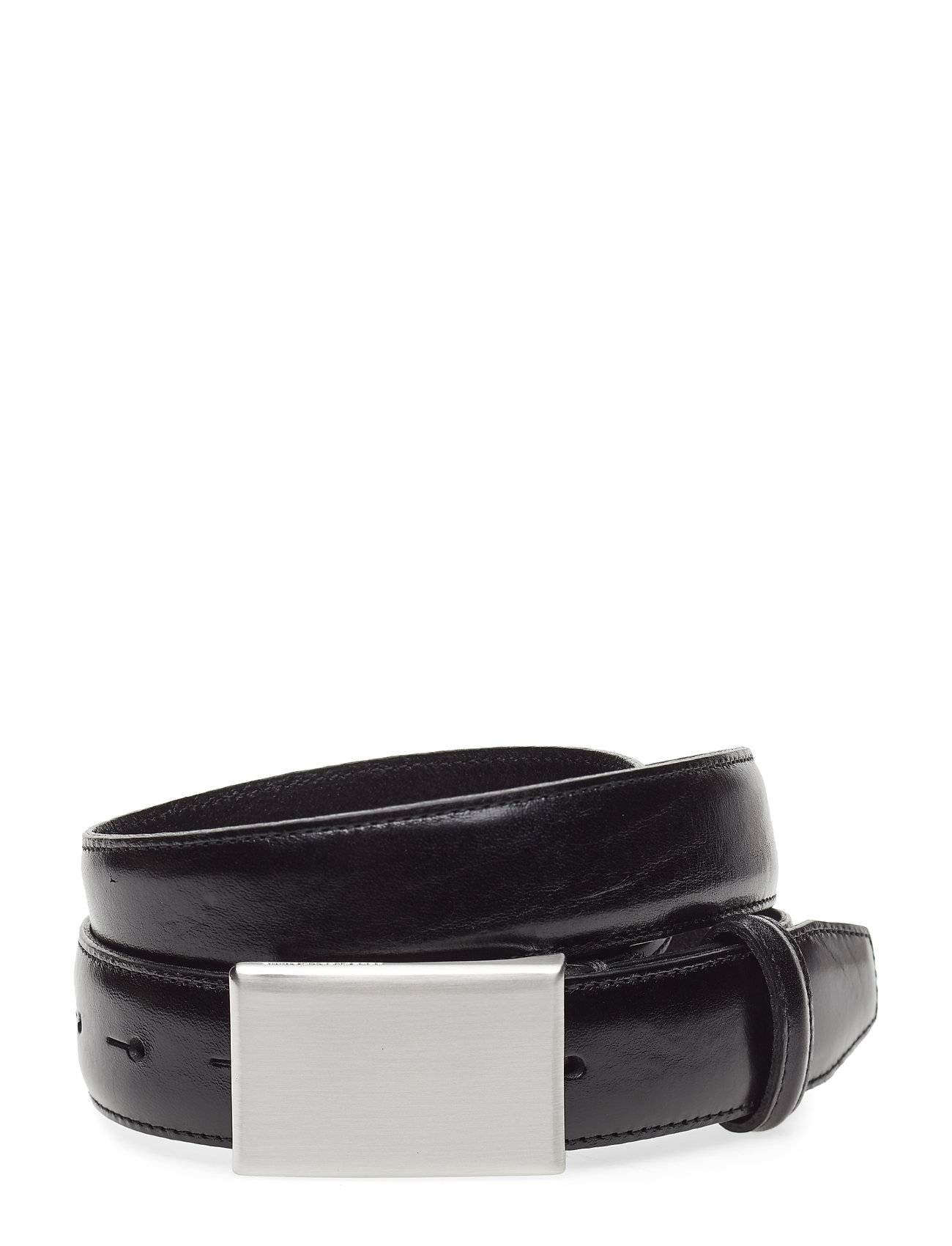 Selected Homme Slhfillip Formal Plate Belt Noos B Accessories Belts Classic Belts Musta Selected Homme