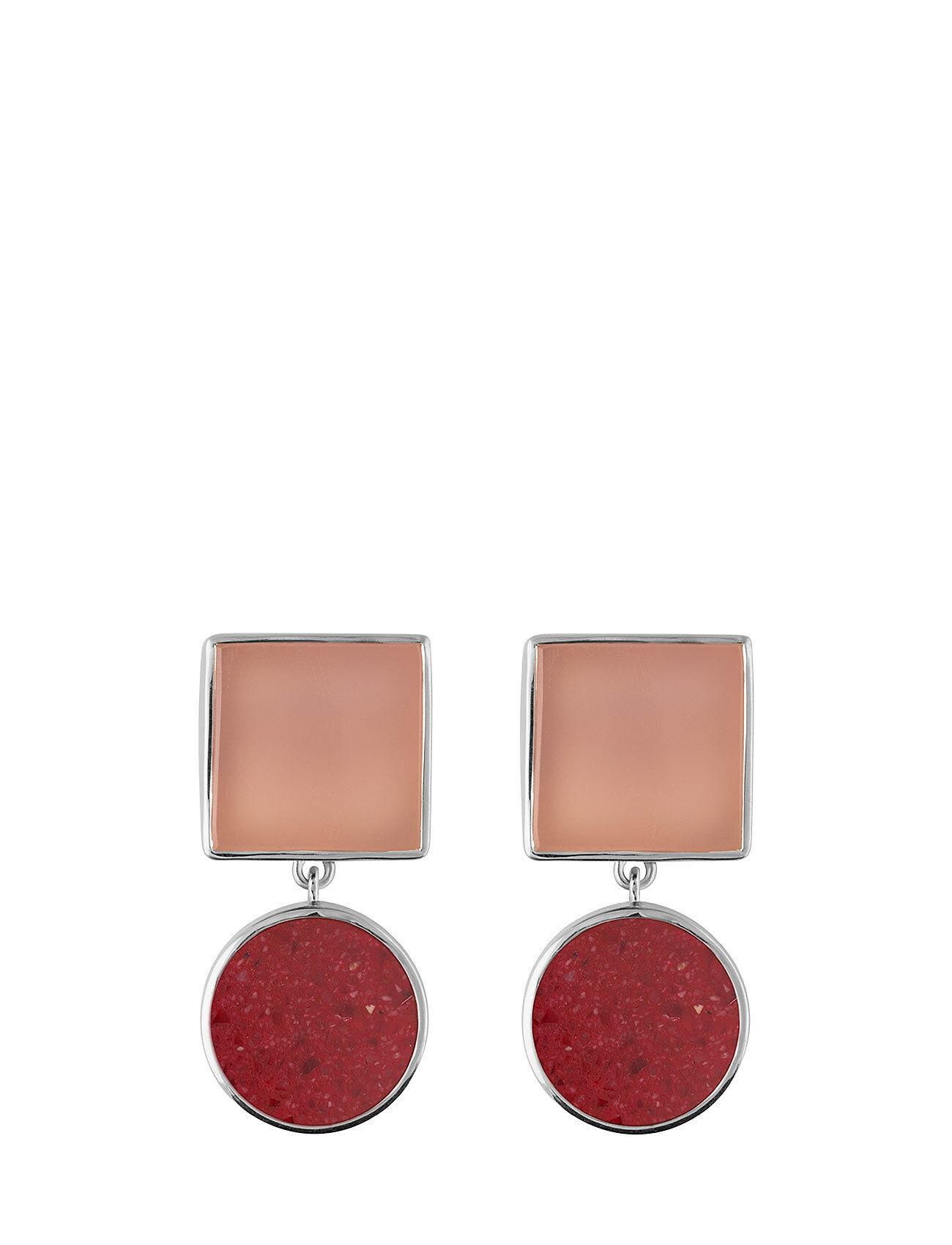 SOPHIE by SOPHIE Irregular St Earrings Korvakoru Korut Vaaleanpunainen SOPHIE By SOPHIE