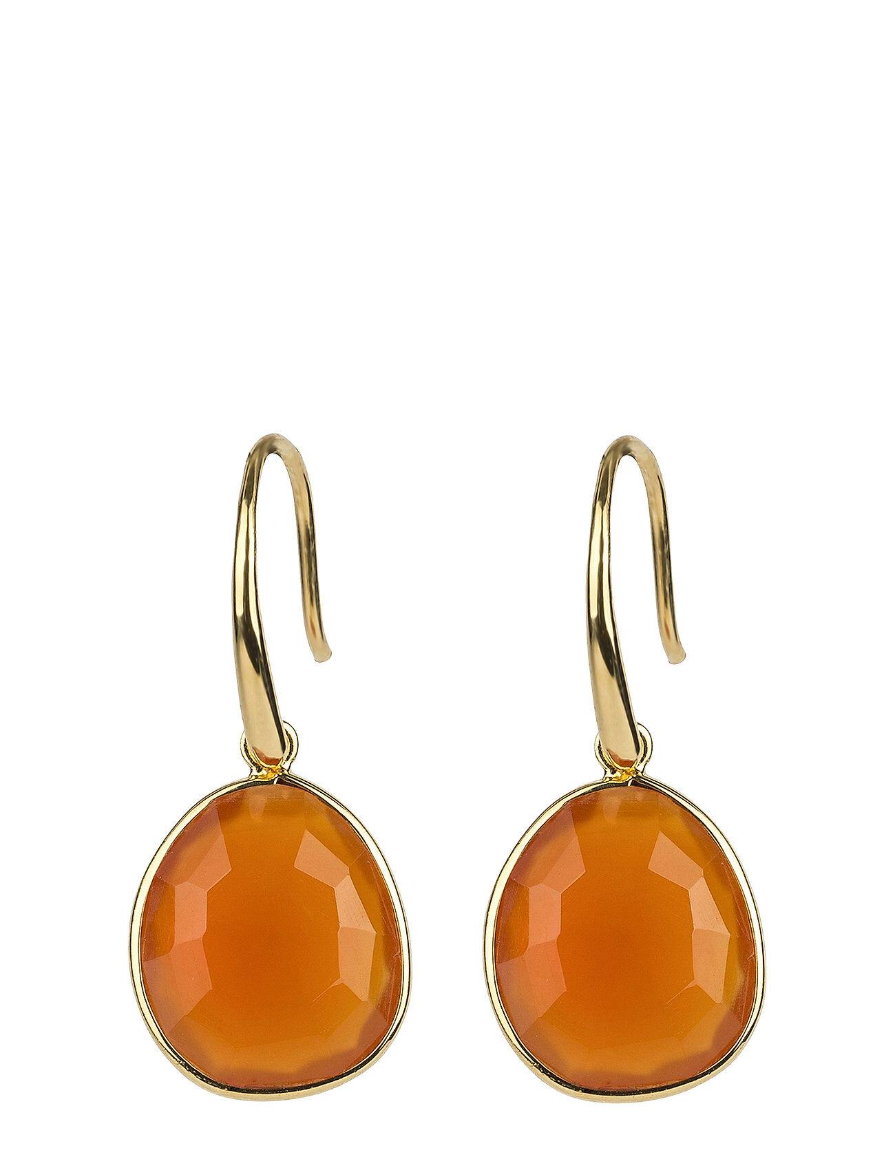 Syster P Glam Glam Earrings Gold Korvakoru Korut Oranssi Syster P
