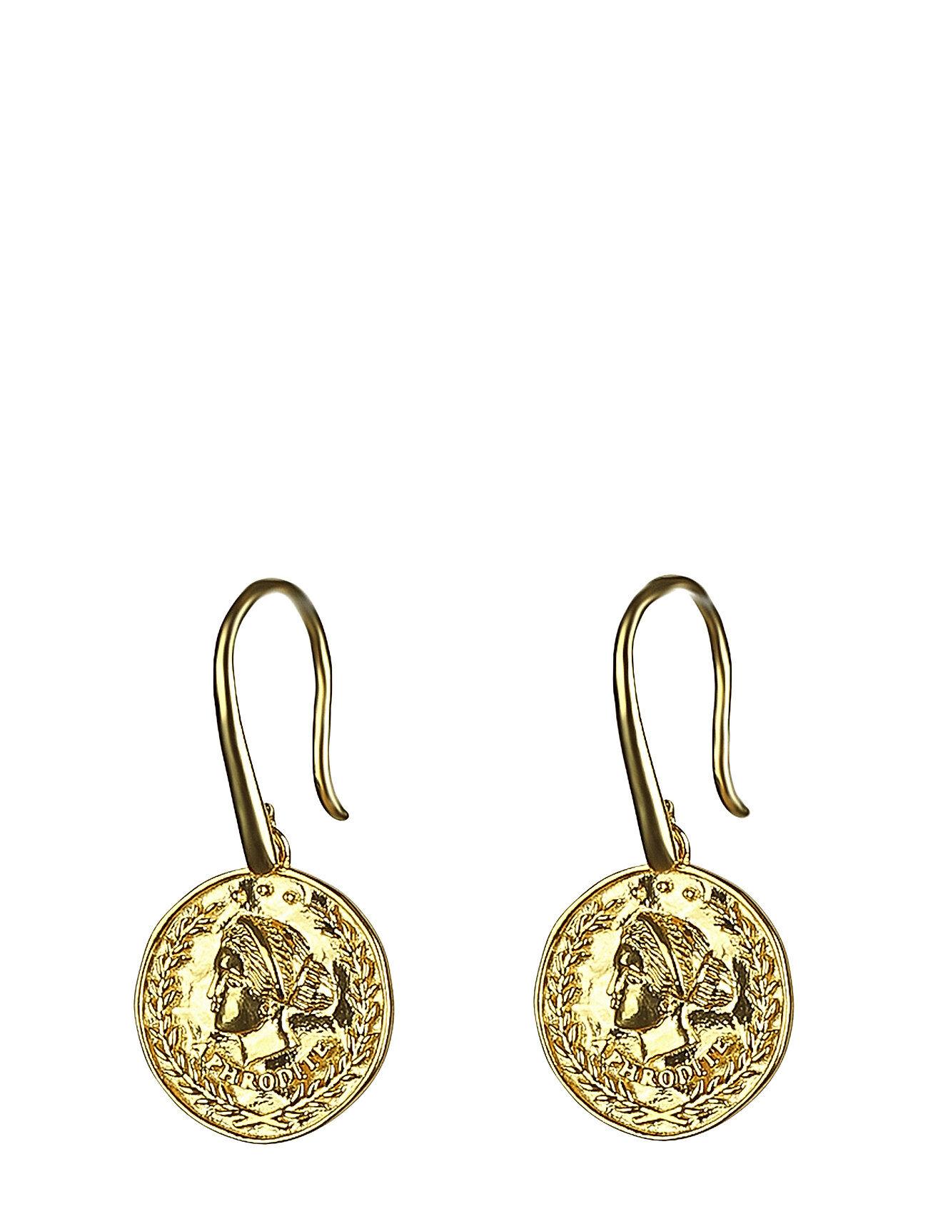Syster P Beaches Aphrodite Earrings Gold Korvakoru Korut Kulta Syster P