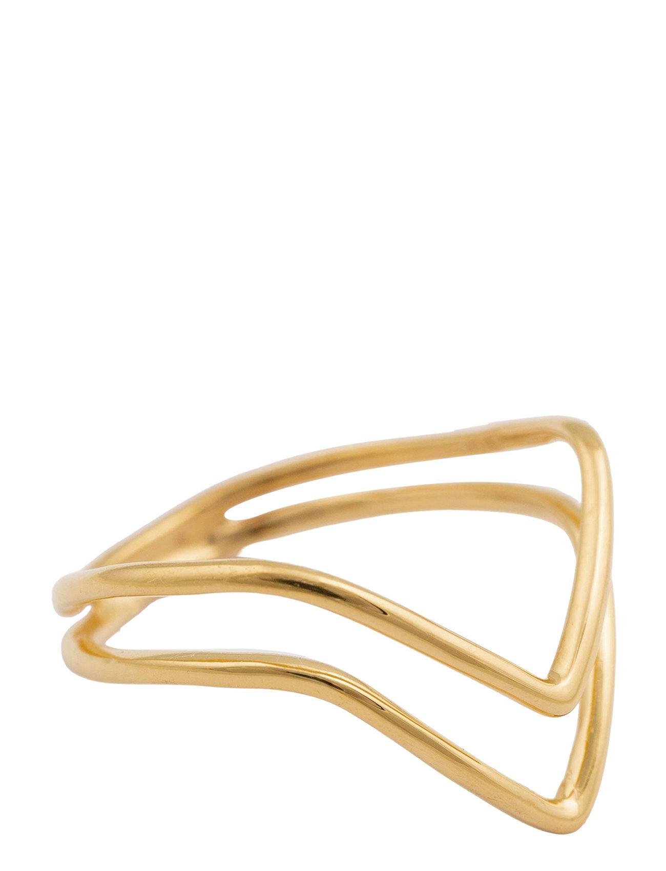 Syster P Tiny Arrow Fingertip Ring Gold Sormus Korut Kulta Syster P