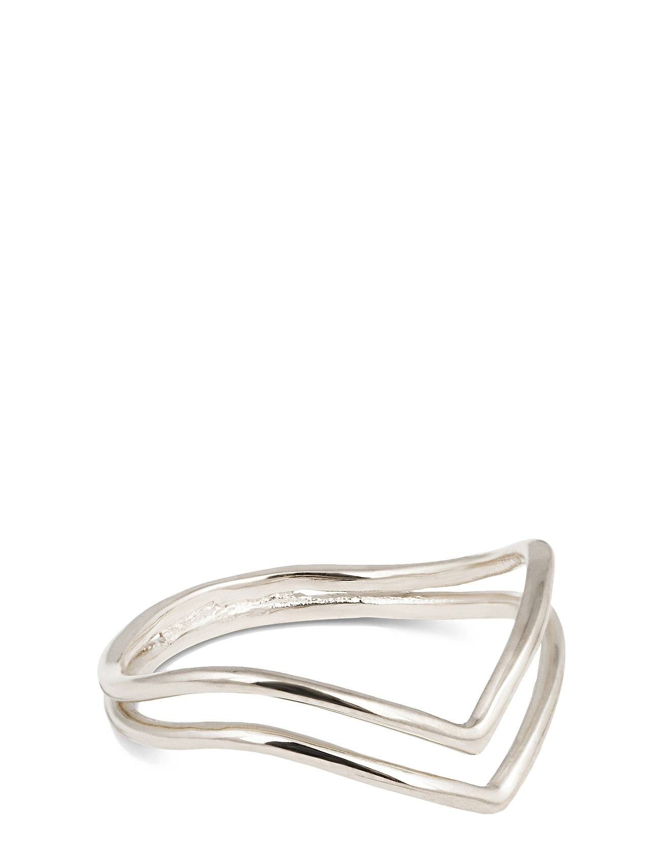 Syster P Tiny Arrow Fingertip Ring Silver Sormus Korut Hopea Syster P