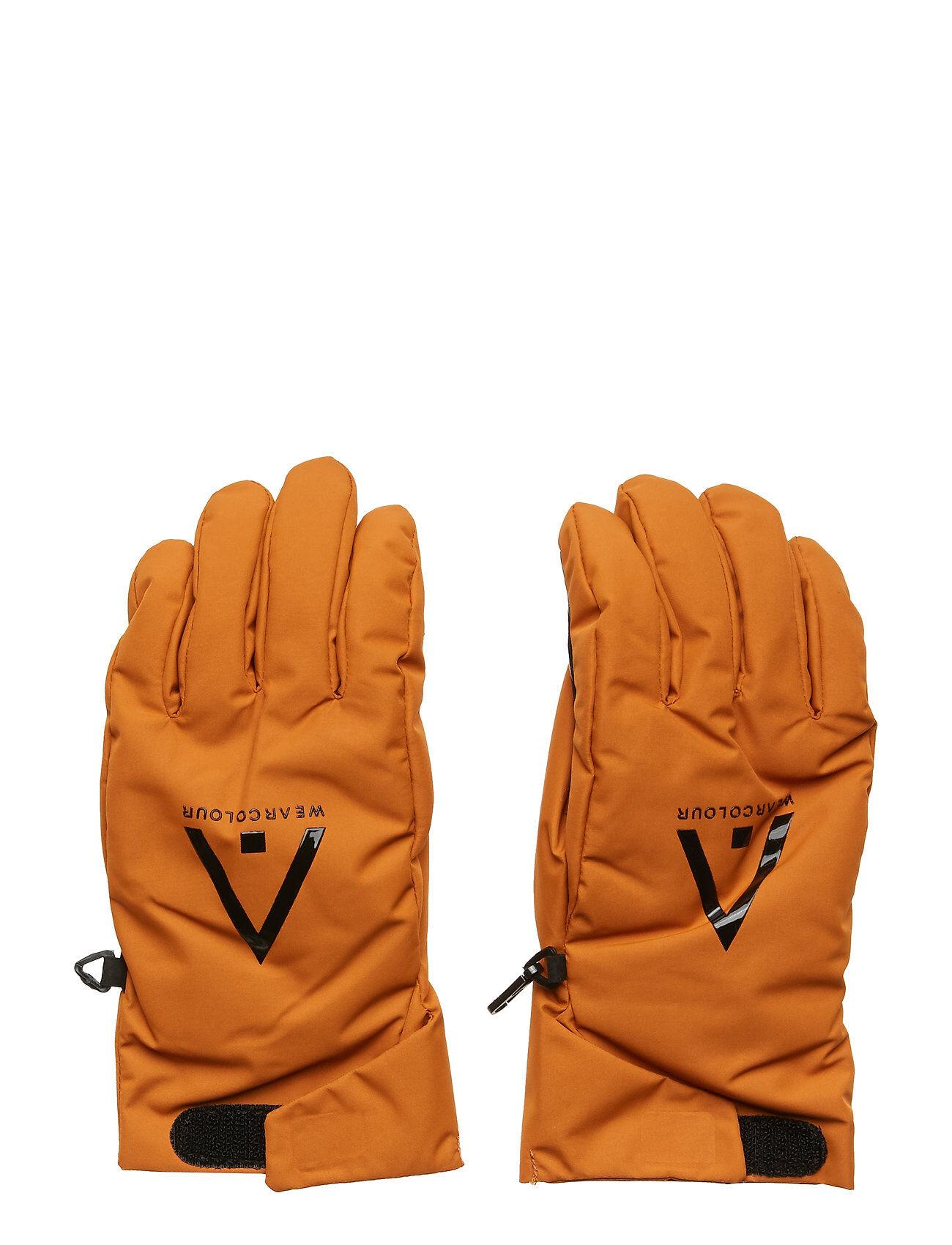 WearColour Rider Glove Hanskat Käsineet Keltainen WearColour