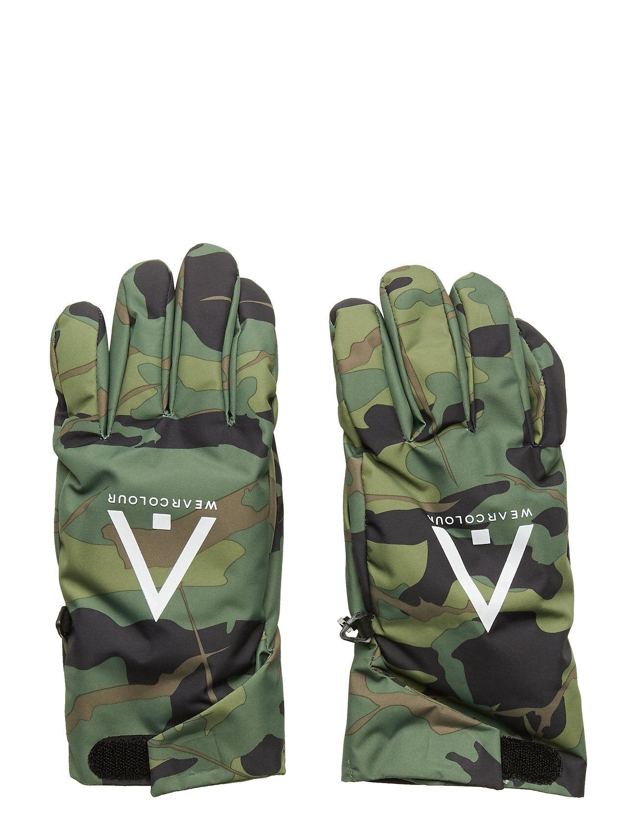 WearColour Rider Glove Hanskat Käsineet Vihreä WearColour