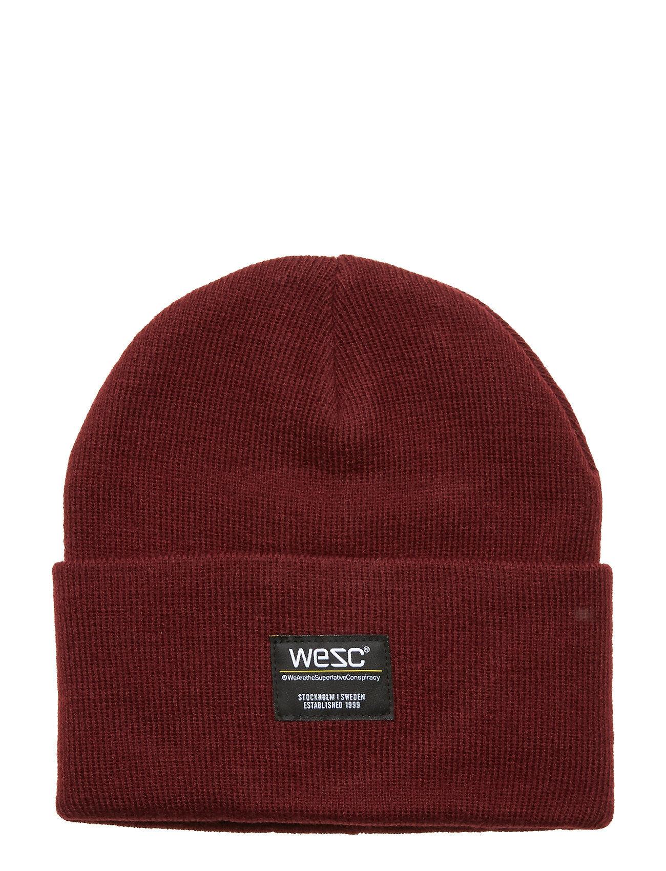 WeSC Puncho Beanie Accessories Headwear Beanies Punainen WeSC