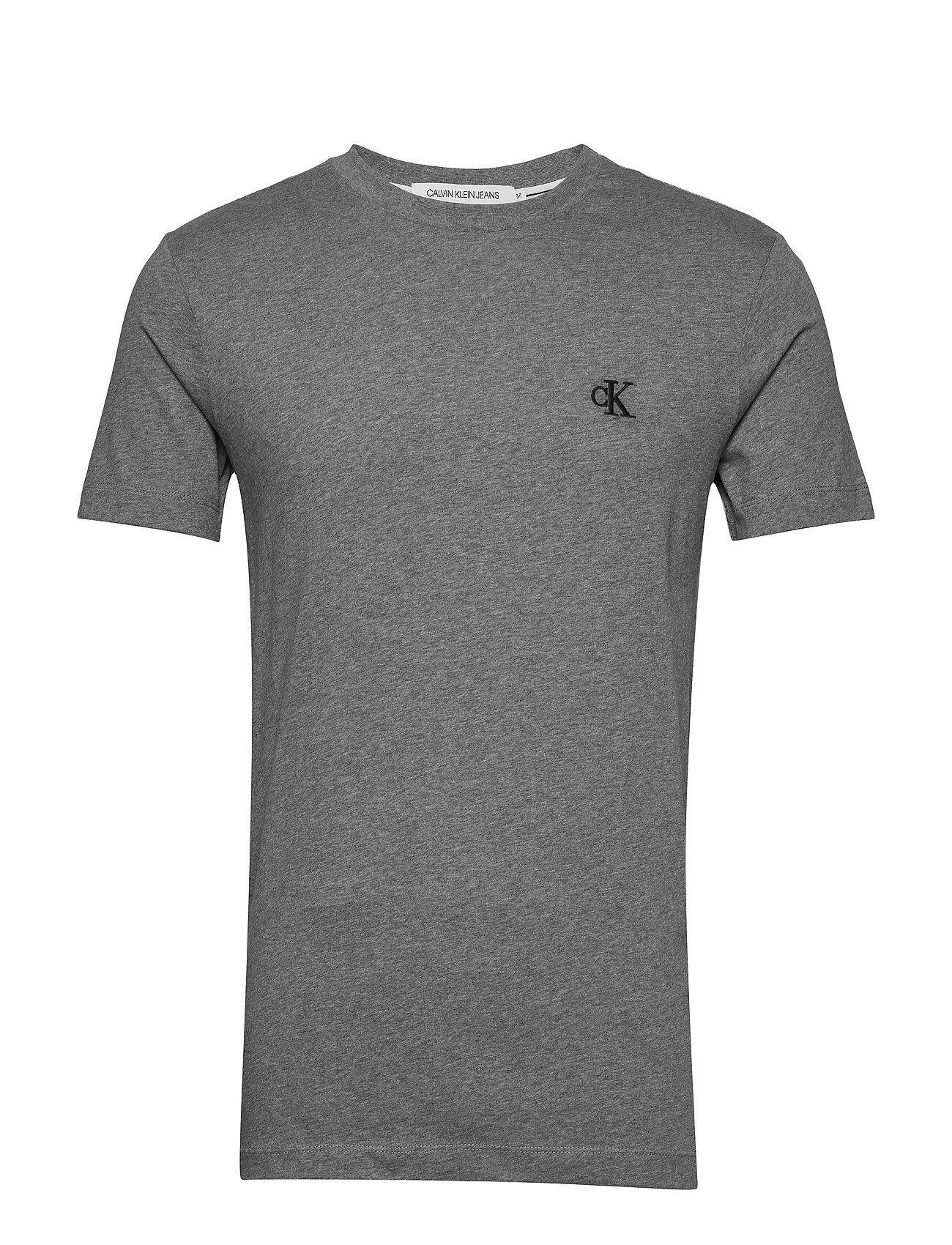 Image of Calvin Ck Essential Slim Tee T-shirts Short-sleeved Harmaa Calvin Klein Jeans