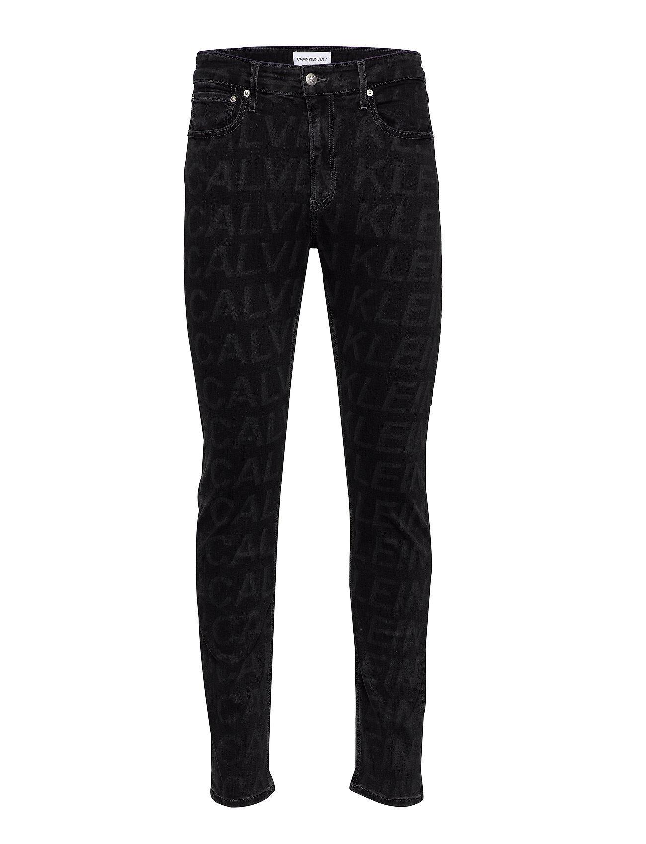 Image of Calvin Ckj 058 Slim Taper Tiukat Farkut Harmaa Calvin Klein Jeans