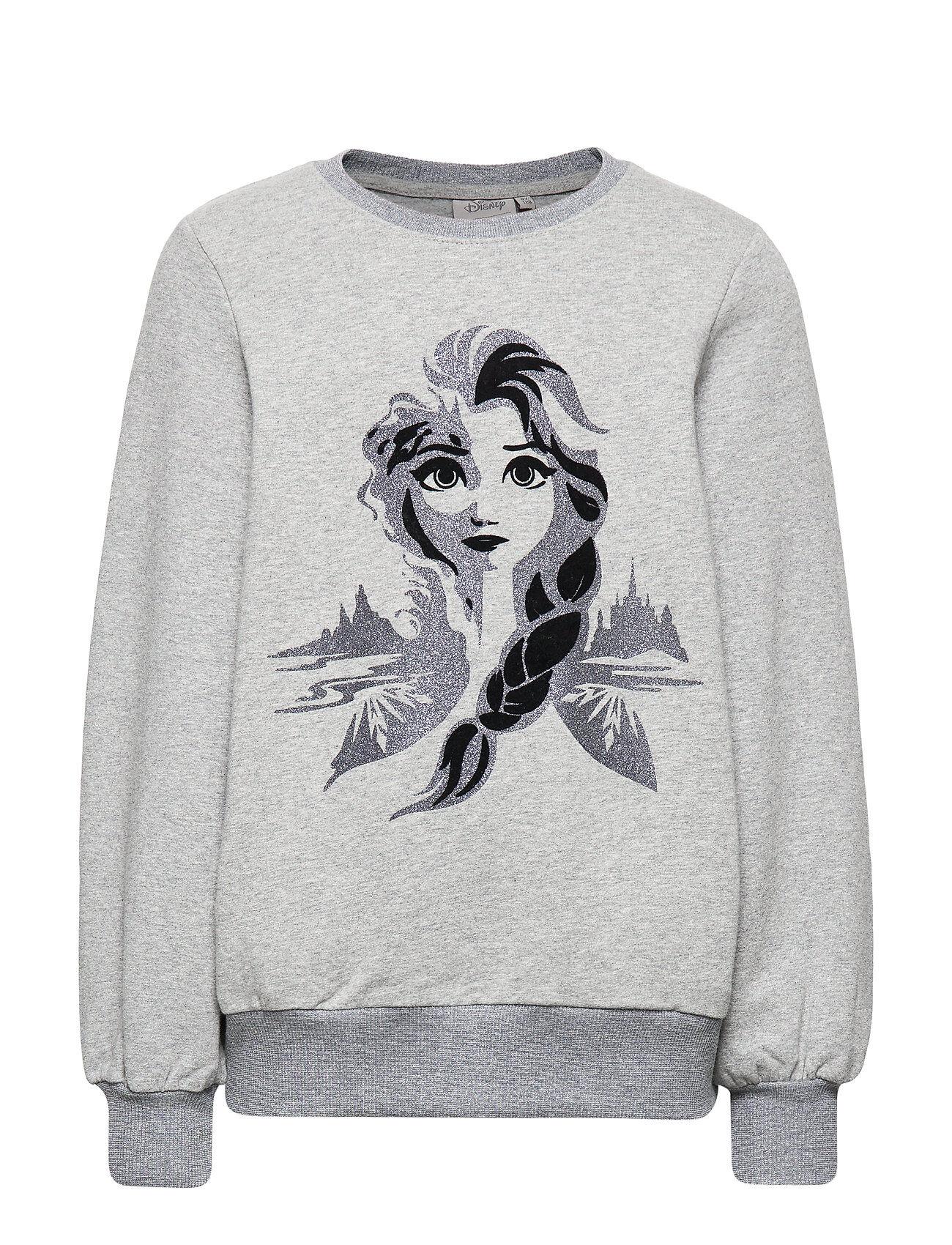 Disney Sweatshirt Frozen Elsa Svetari Collegepaita Harmaa Disney By Wheat