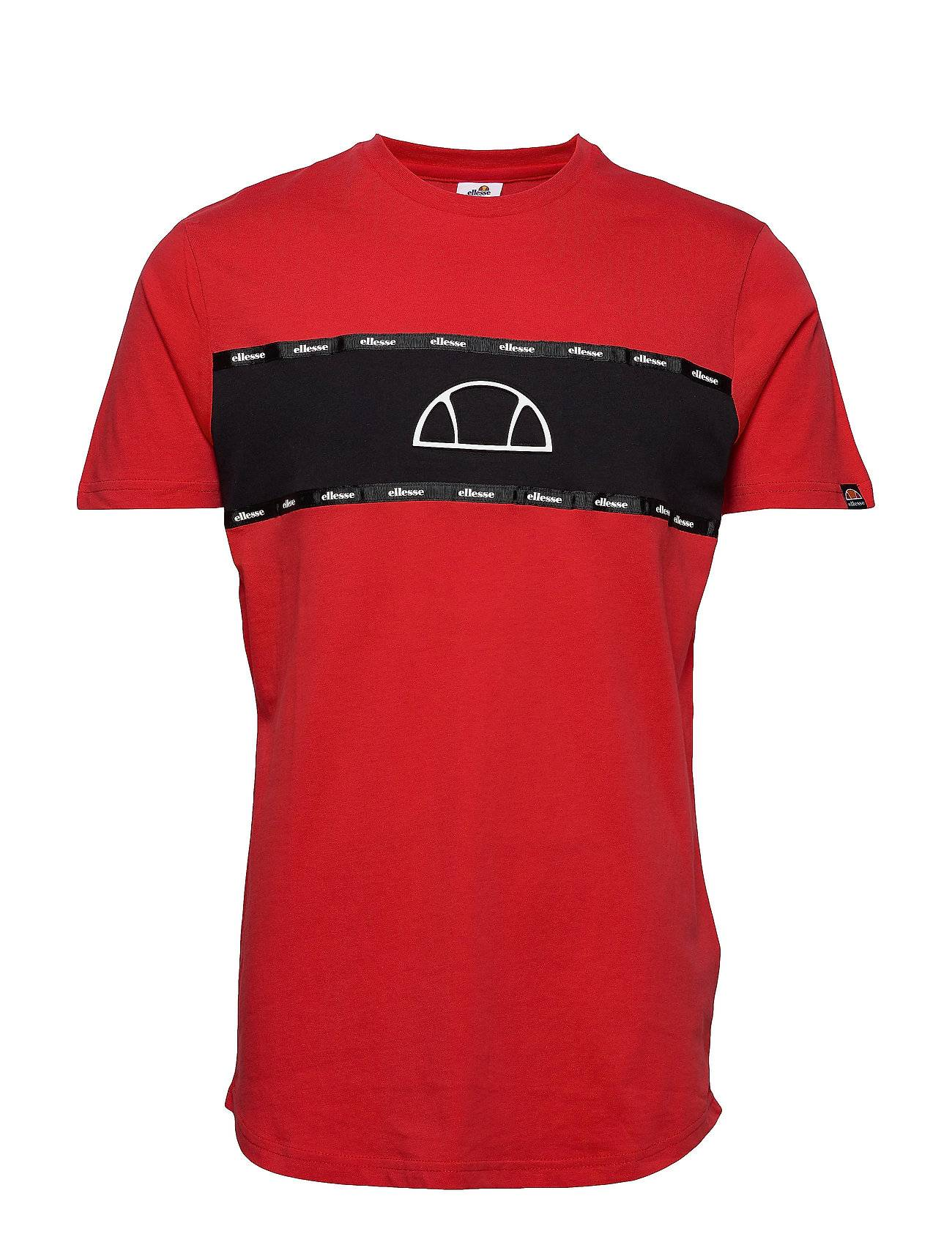 Ellesse El Sesia Tee T-shirts Short-sleeved Punainen Ellesse