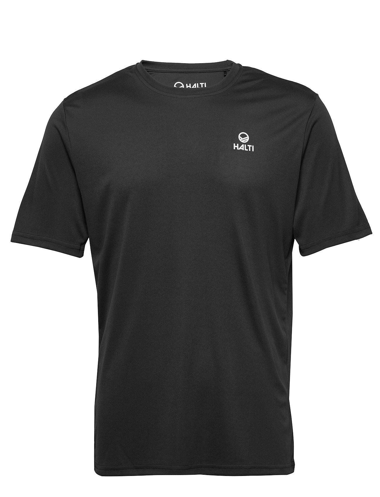 Halti Osku M T-Shirt T-shirts Short-sleeved Musta Halti