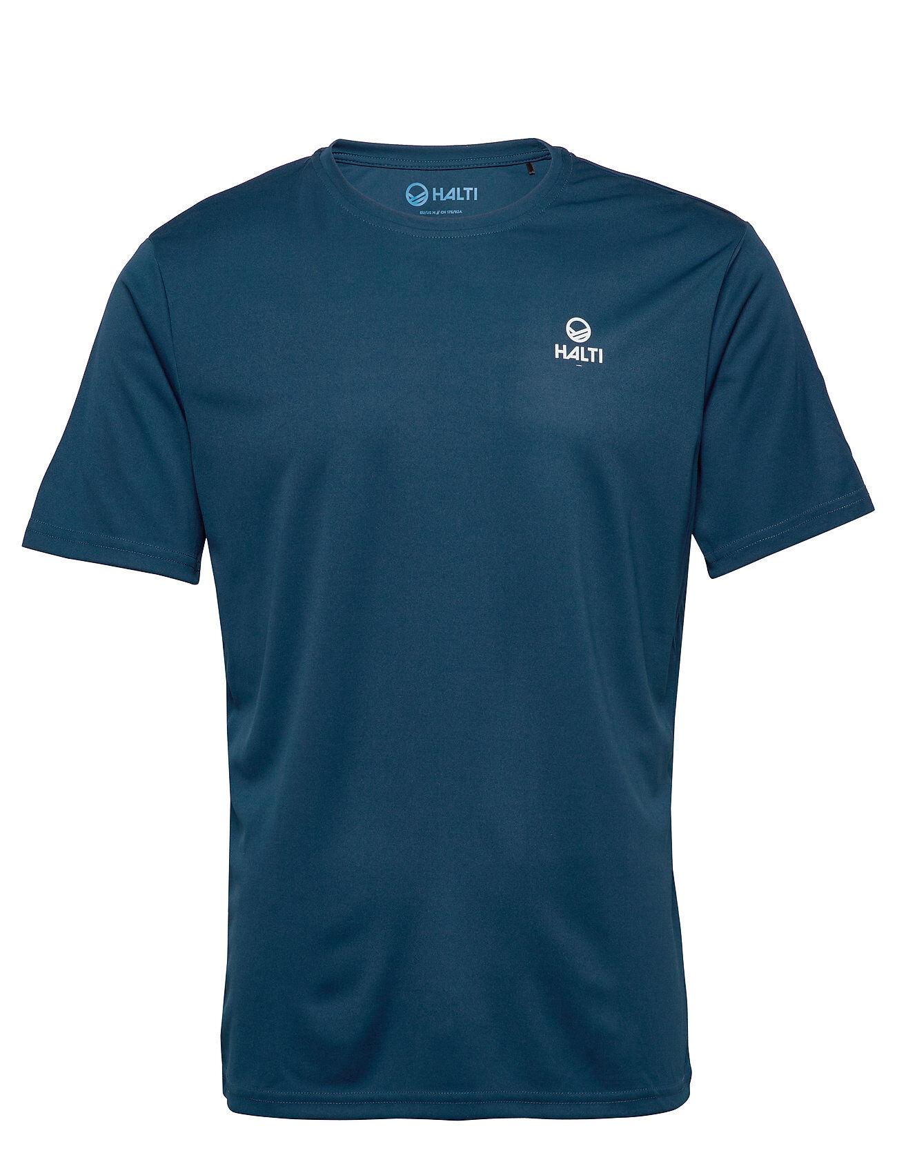 Halti Osku M T-Shirt T-shirts Short-sleeved Sininen Halti