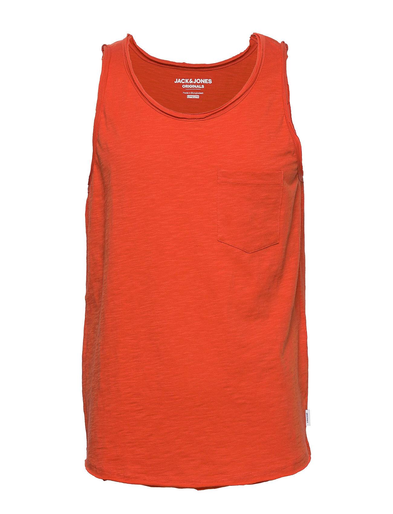 Jack & Jones Jorwallet Tank Top Sts T-shirts Sleeveless Punainen Jack & J S