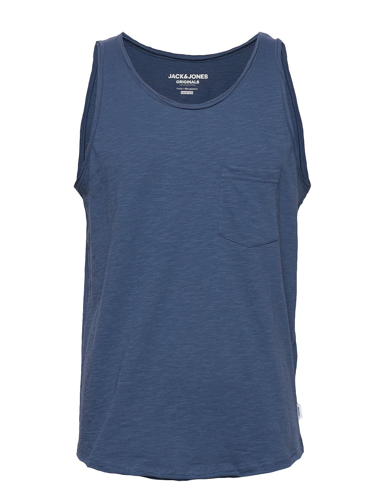 Jack & Jones Jorwallet Tank Top Sts T-shirts Sleeveless Sininen Jack & J S