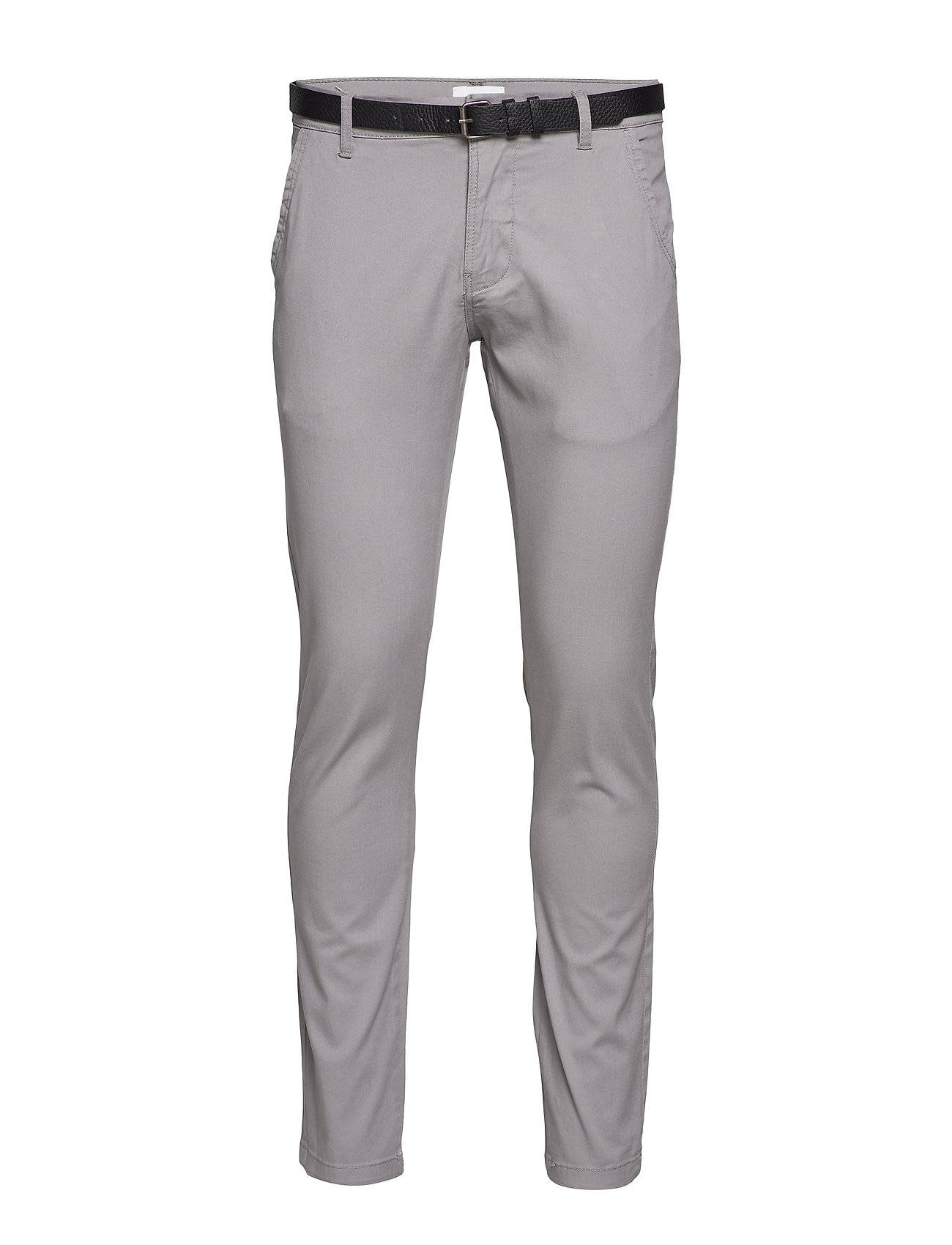 Lindbergh Classic Stretch Chino W. Belt Chinot Housut Hopea Lindbergh