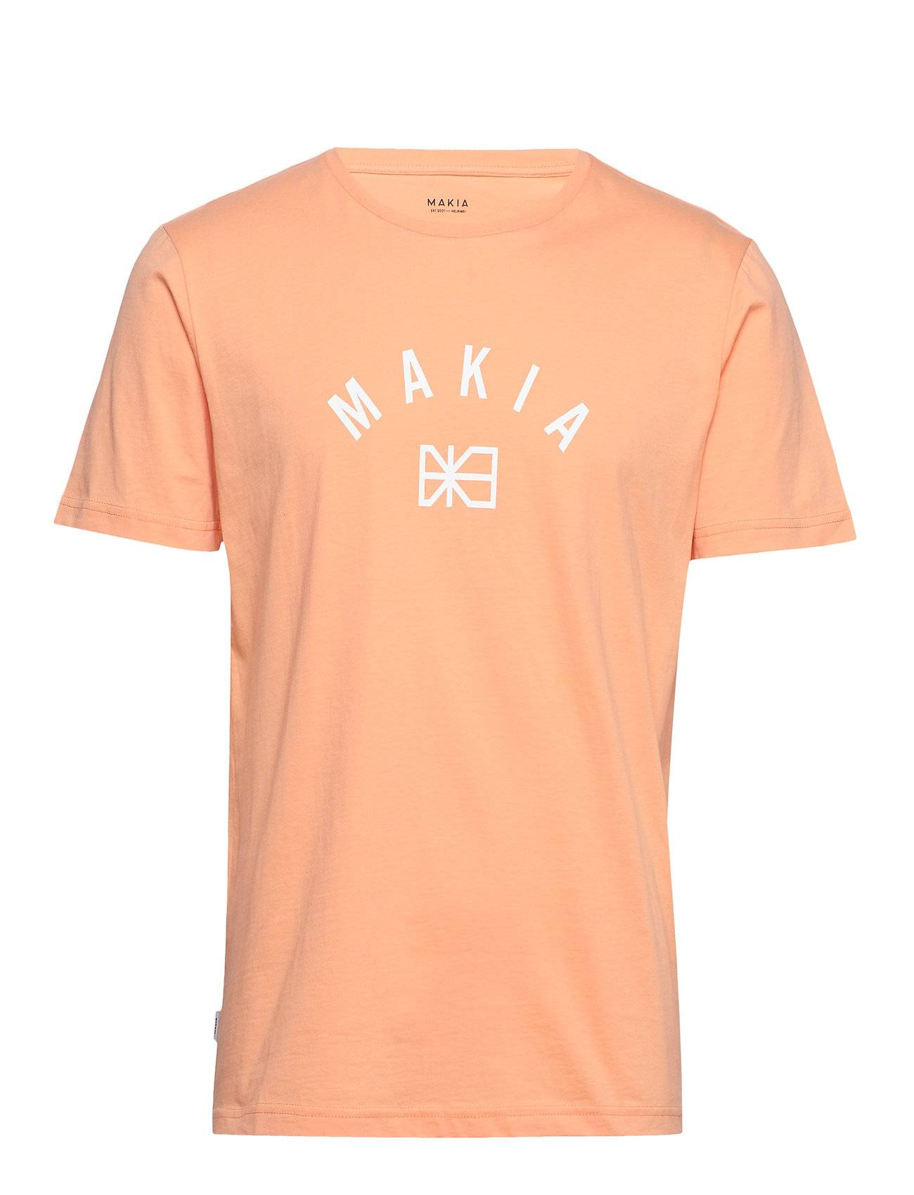Makia Brand T-Shirt T-shirts Short-sleeved Oranssi Makia