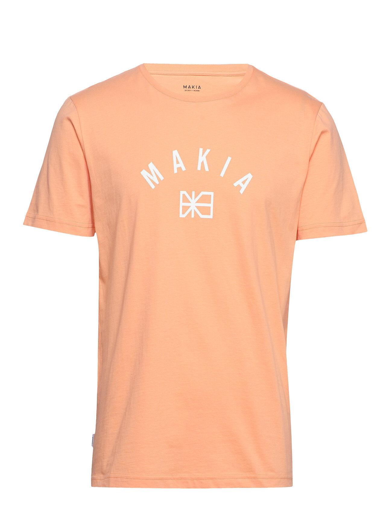 Makia Brand T-Shirt T-shirts Short-sleeved Oranssi Makia