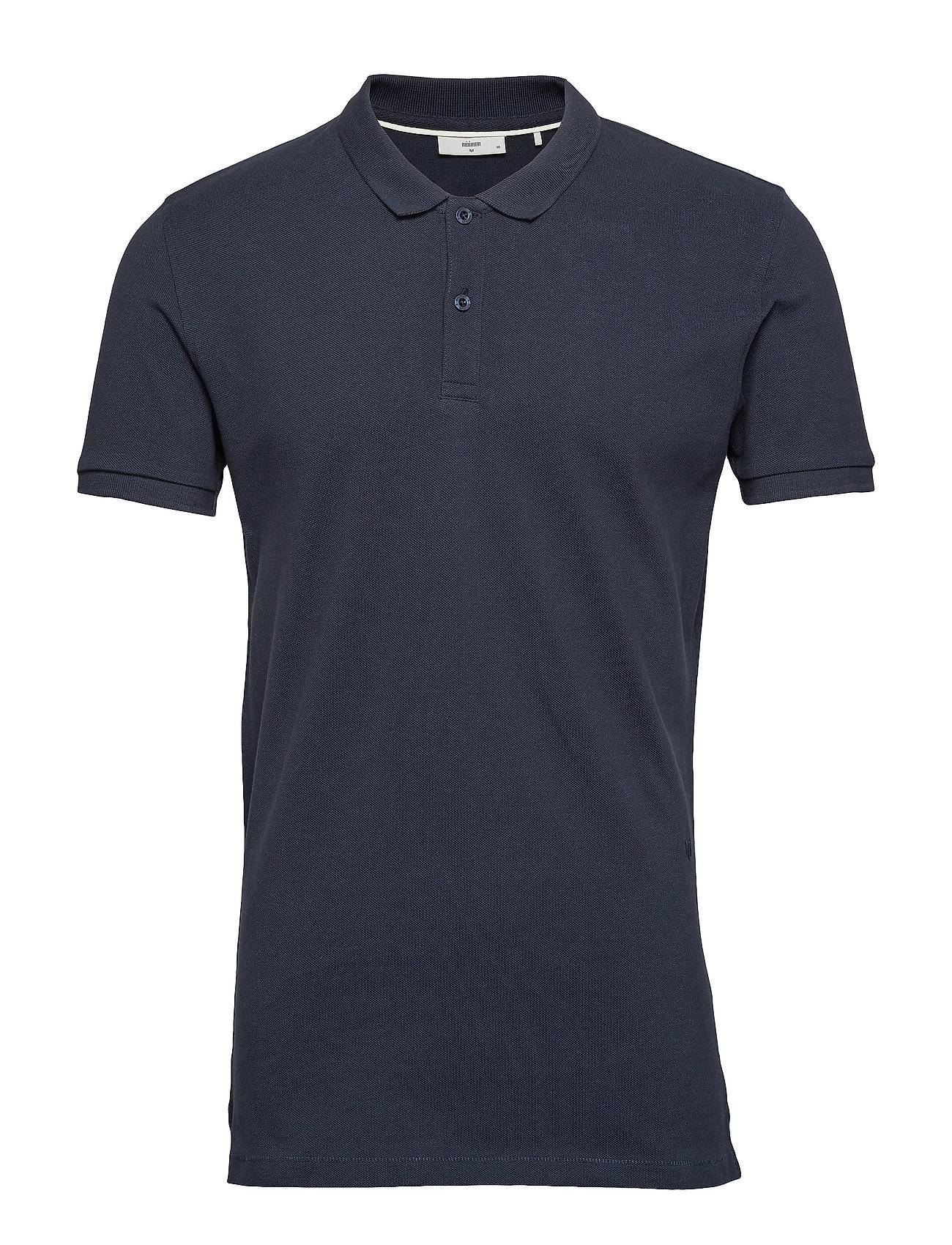 Minimum Zane Polos Short-sleeved Sininen Minimum