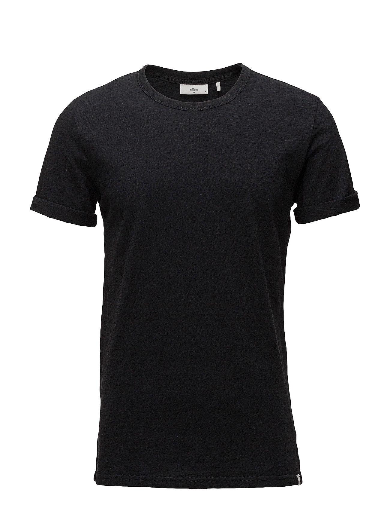 Minimum Delta T-shirts Short-sleeved Musta Minimum