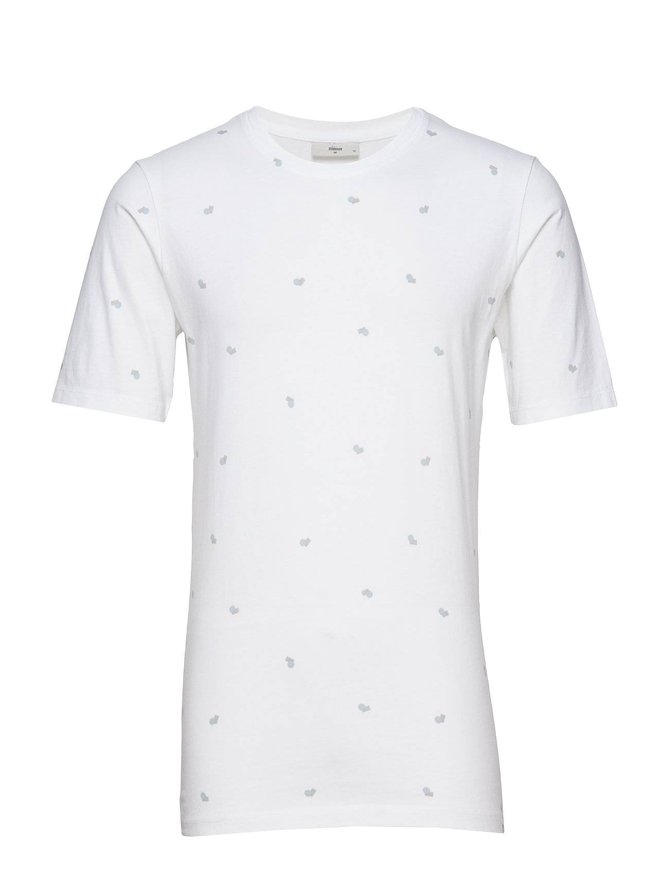 Minimum Canten T-shirts Short-sleeved Valkoinen Minimum
