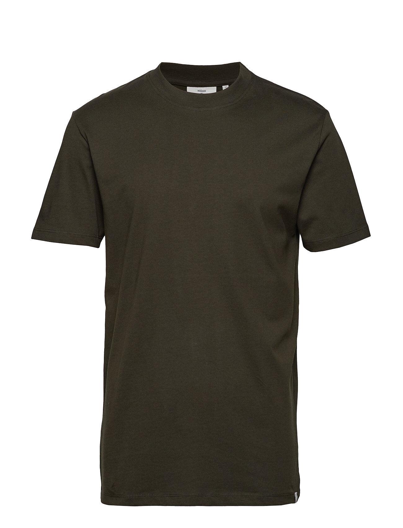 Minimum Aarhus T-shirts Short-sleeved Vihreä Minimum