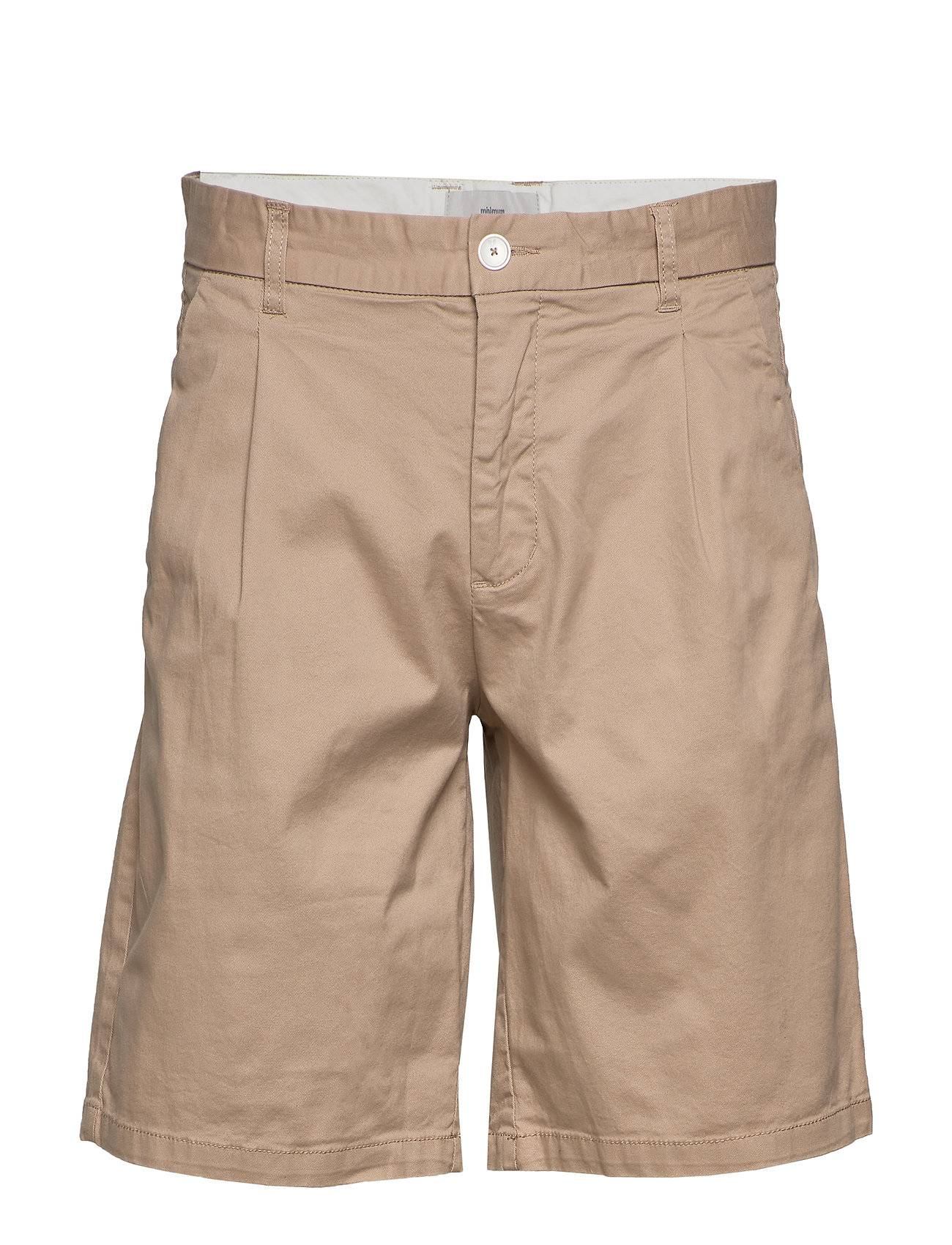 Minimum Oran Shorts Chinos Shorts Beige Minimum