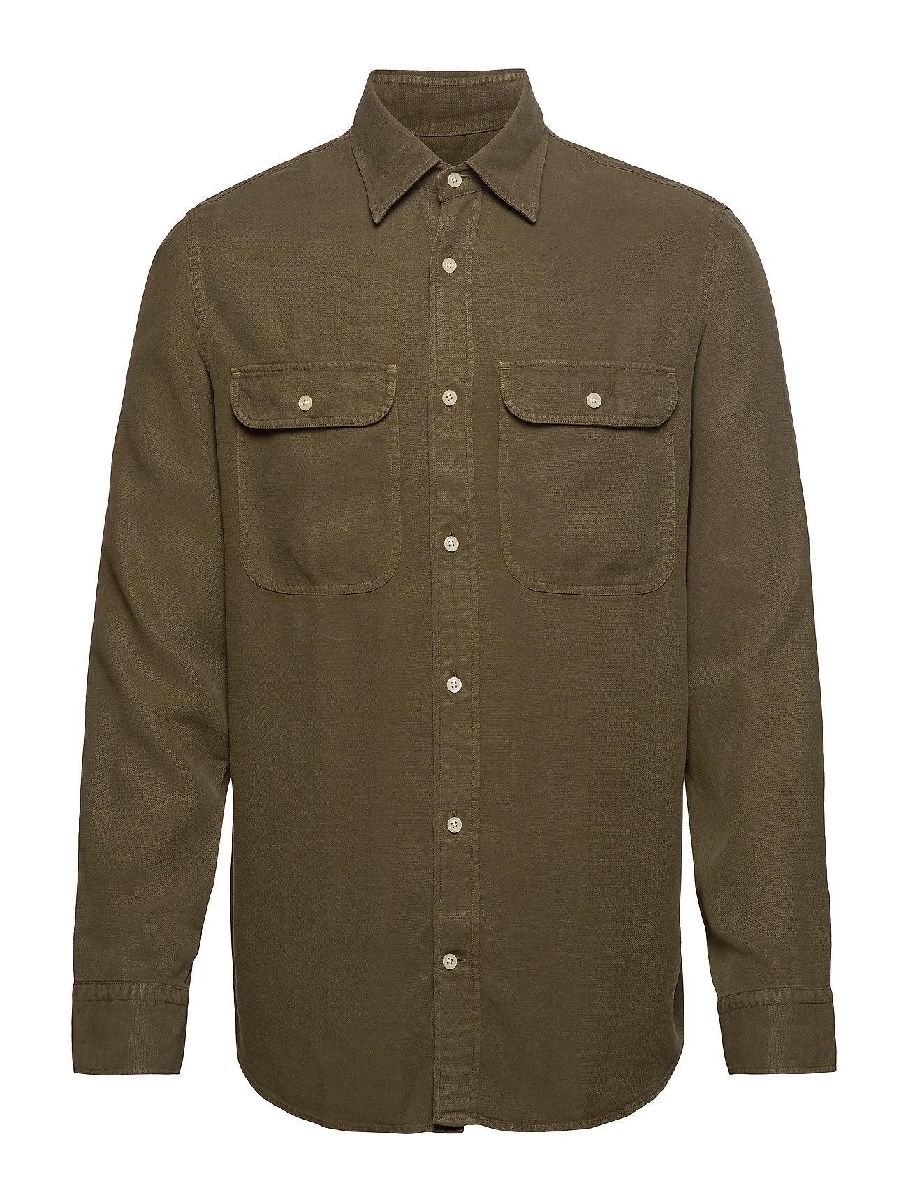 NN07 Alf Shirt 5408 Paita Rento Casual Vihreä NN07