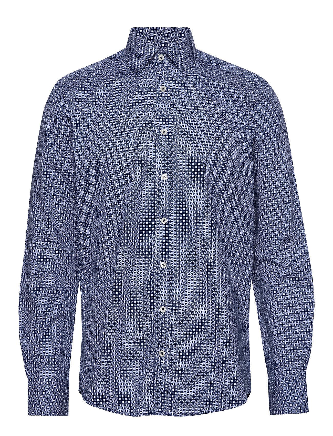 Park Lane Shirt L/S Paita Bisnes Sininen Park Lane