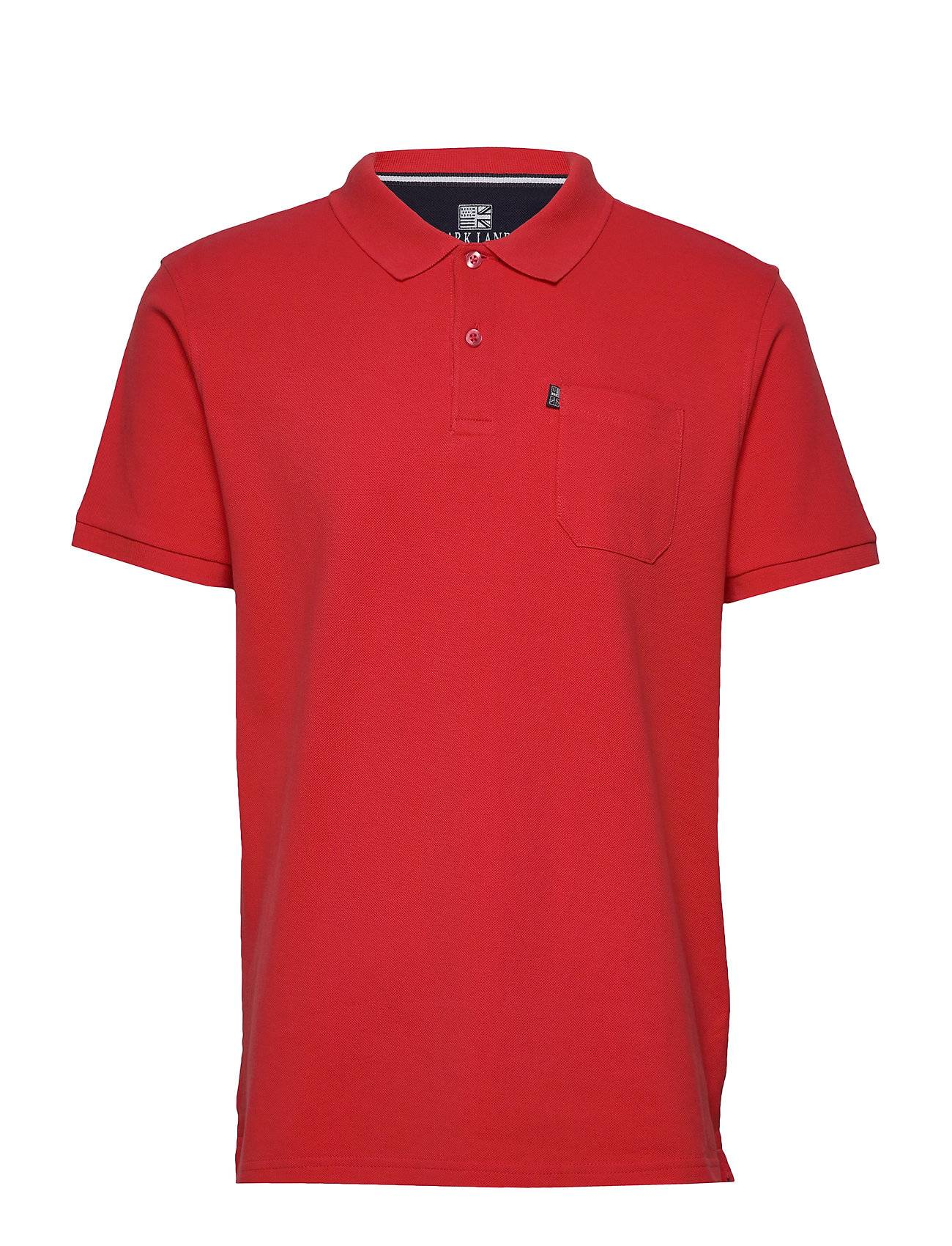 Park Lane 8902-1650 Polos Short-sleeved Punainen Park Lane