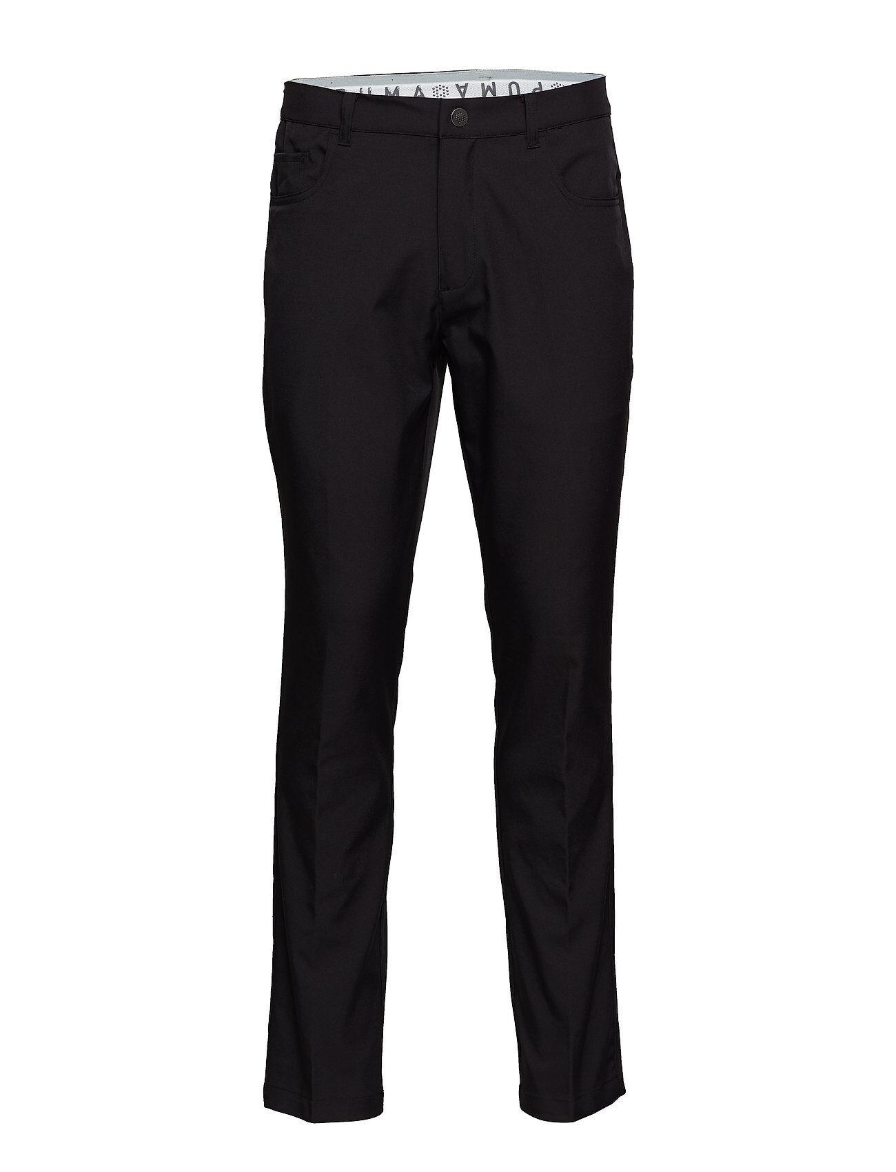 PUMA Golf Jackpot 5 Pocket Pant Sport Pants Musta PUMA Golf