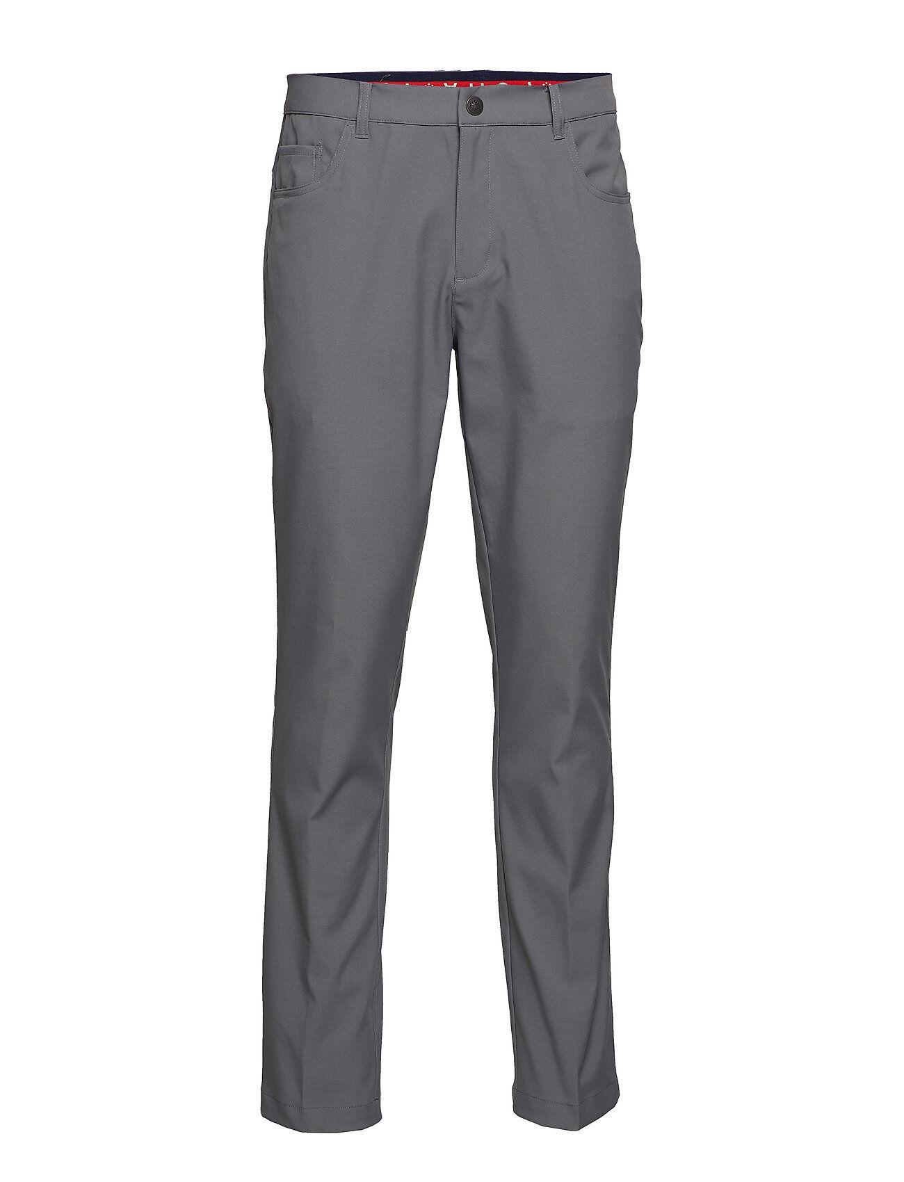 PUMA Golf Jackpot 5 Pocket Pant Sport Pants Harmaa PUMA Golf