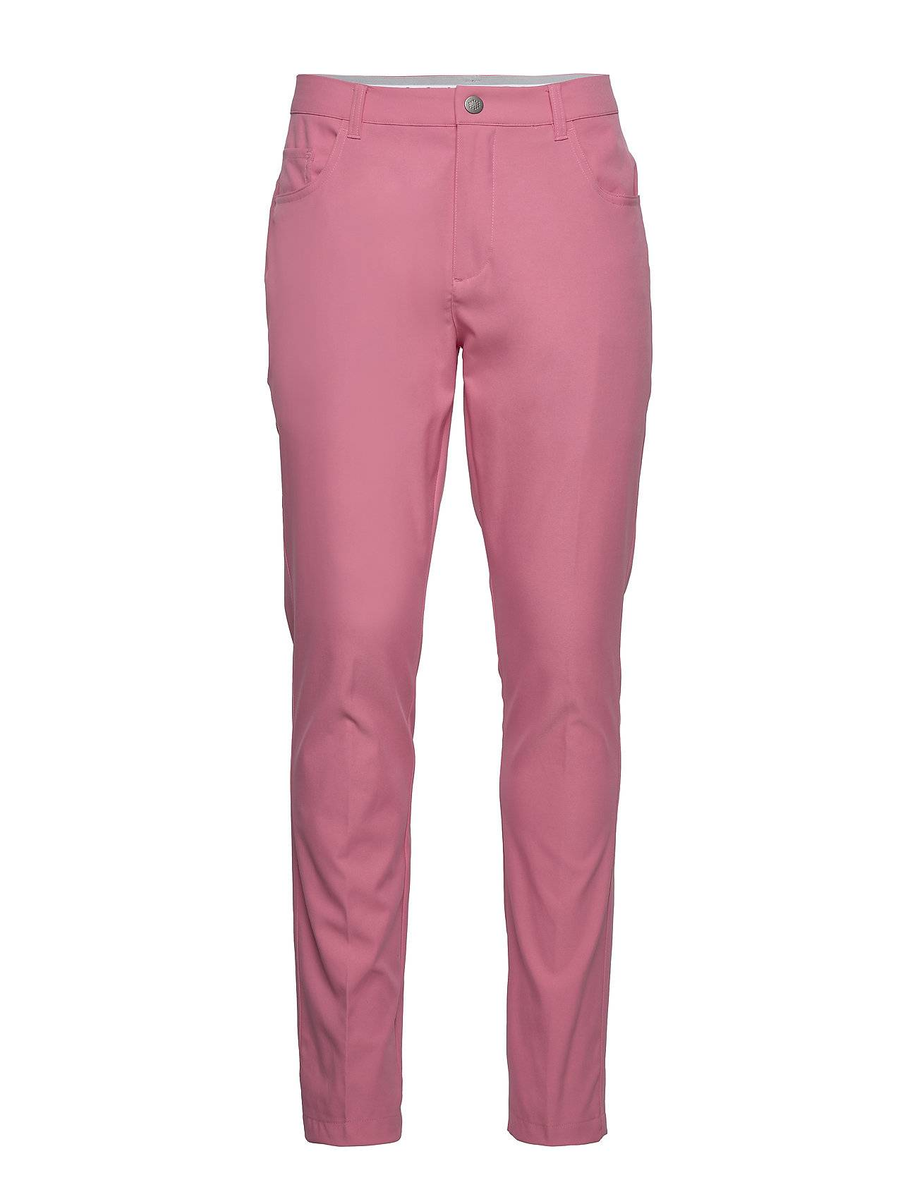 PUMA Golf Jackpot 5 Pocket Pant Sport Pants Vaaleanpunainen PUMA Golf