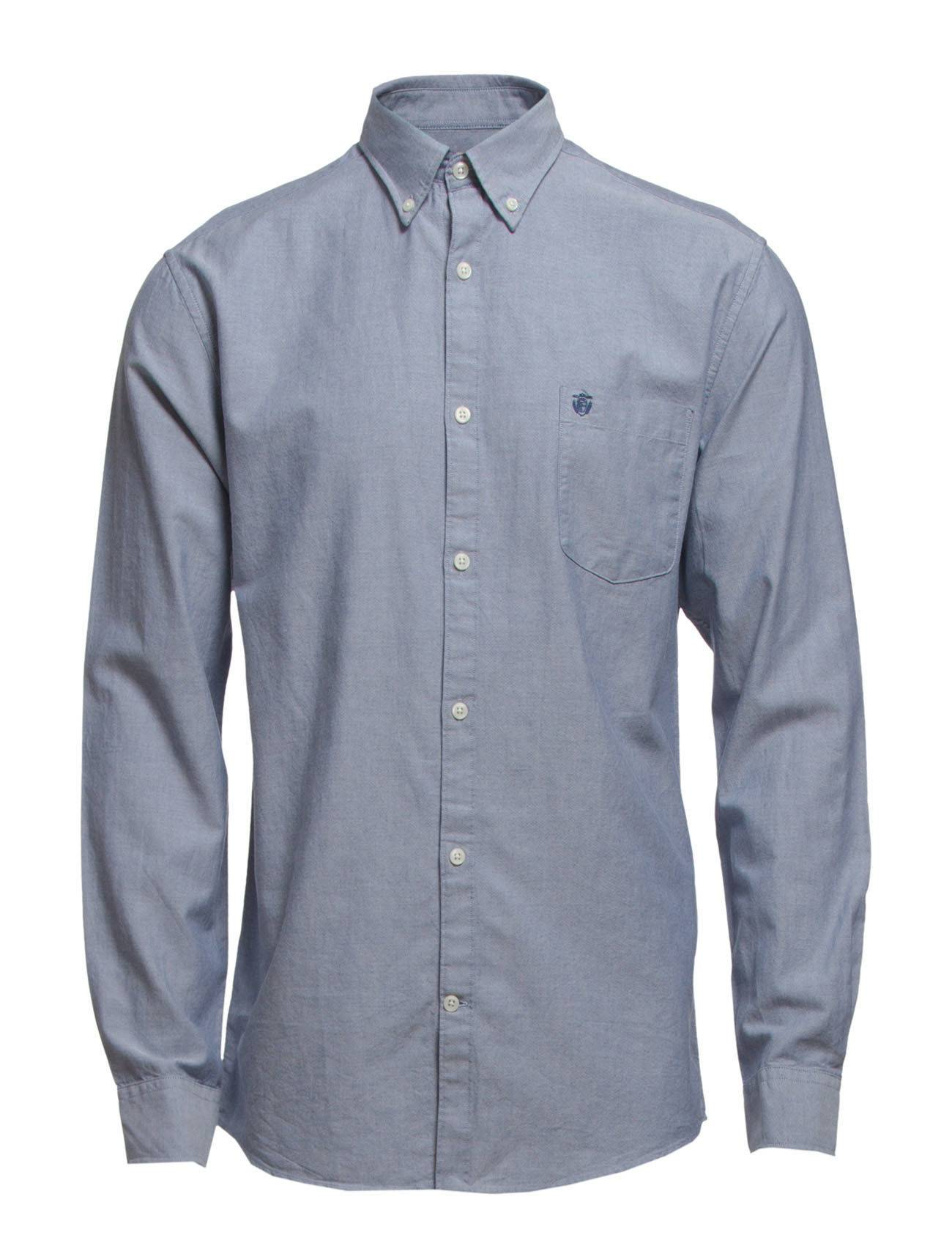 Selected Homme Collect Shirt Ls R Noos H Paita Bisnes Sininen Selected Homme
