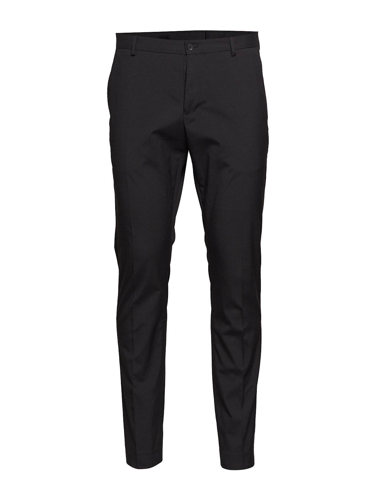 Selected Homme Slhslim-Mylologan Black Trouser B Noos Puvun Housut Suorat Housut Musta Selected Homme