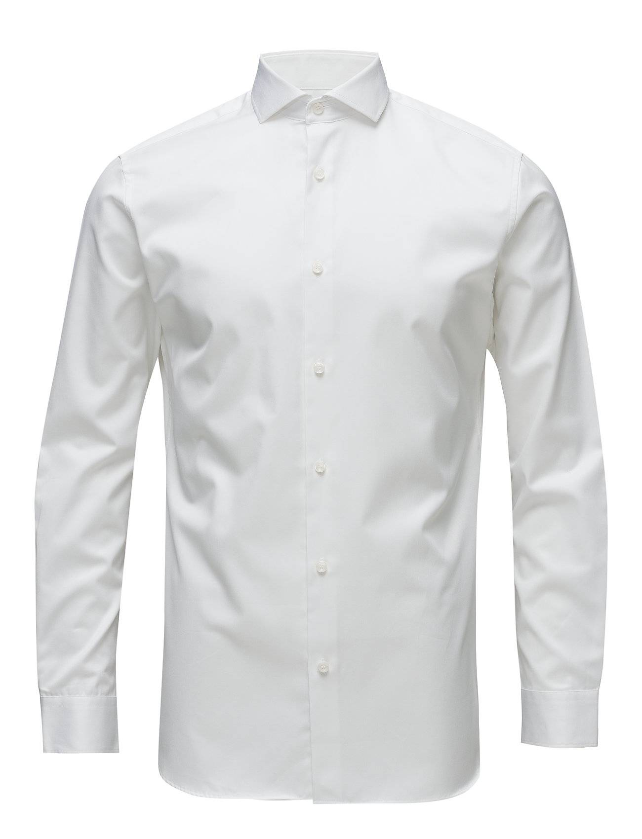 Selected Homme Slhslimsel-Pelle Shirt Ls B Noos Paita Bisnes Valkoinen Selected Homme