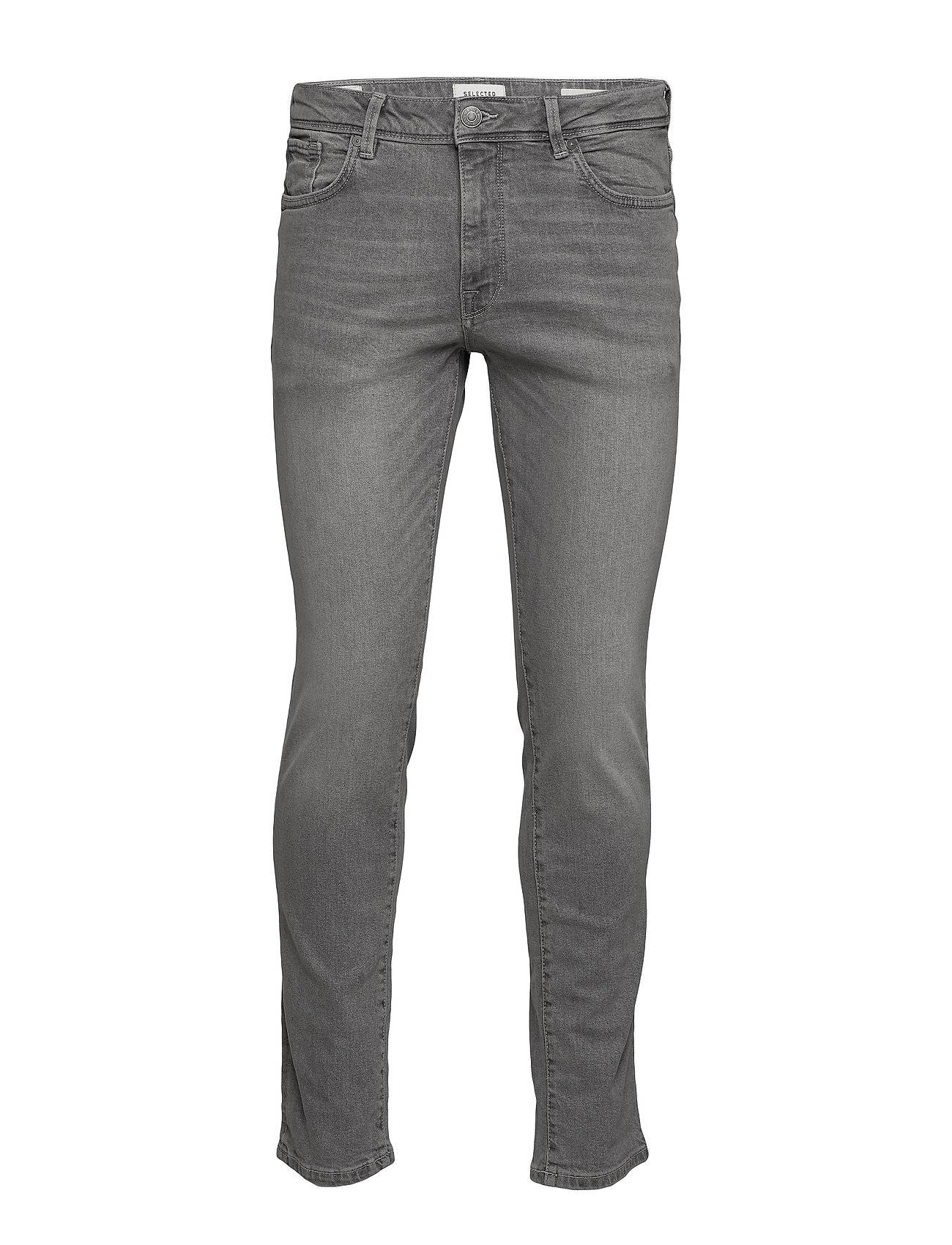 Selected Homme Slhslim-Leon 3021 L.Grey St Jeans W Noos Tiukat Farkut Harmaa Selected Homme
