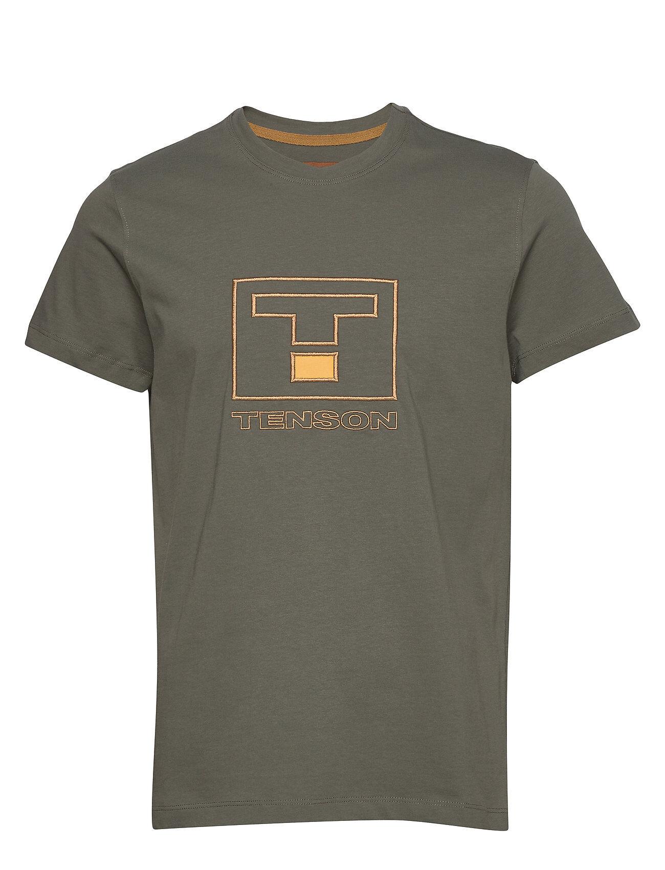 Tenson Vildmark Logo T-shirts Short-sleeved Beige Tenson