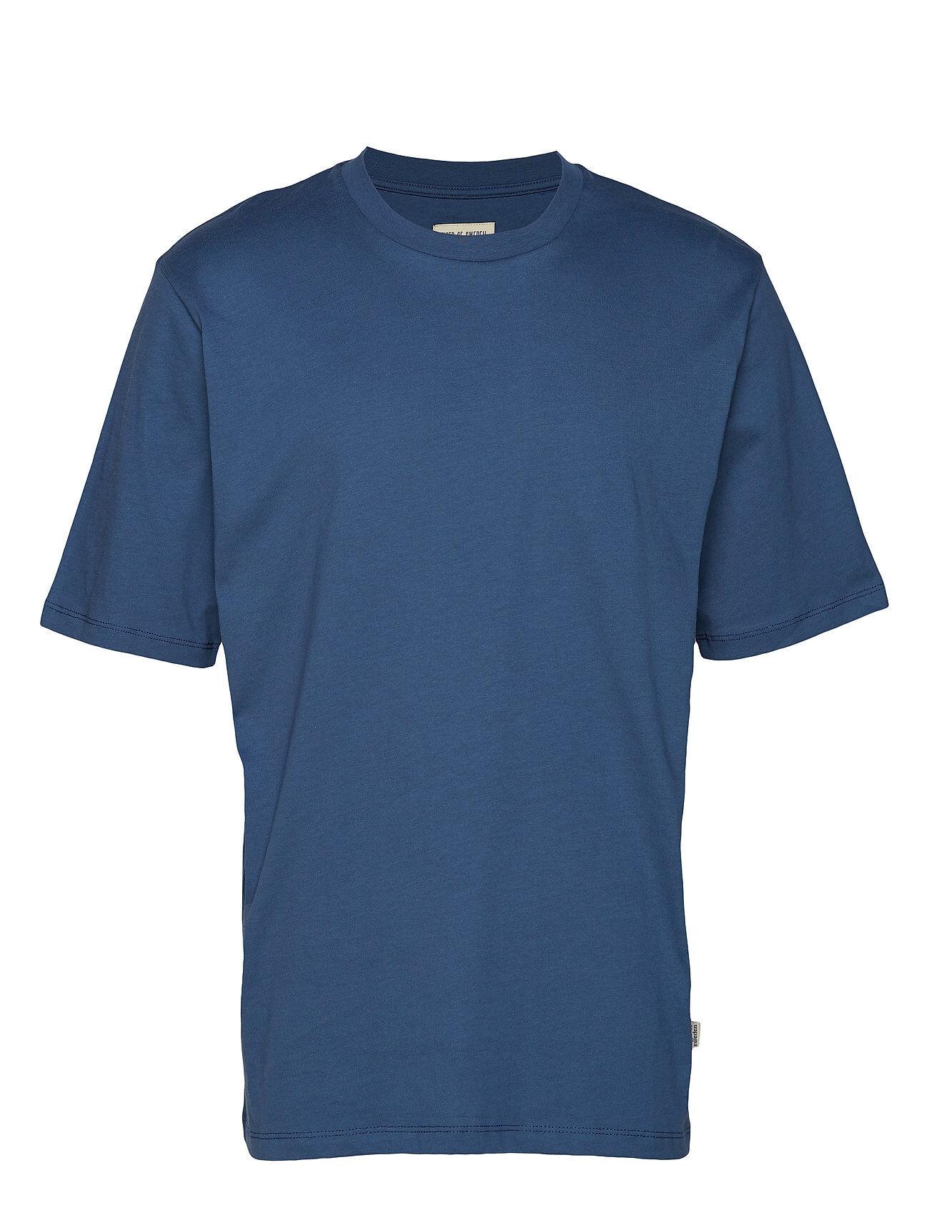 Tiger of Sweden Jeans Pro T-shirts Short-sleeved Sininen Tiger Of Sweden Jeans
