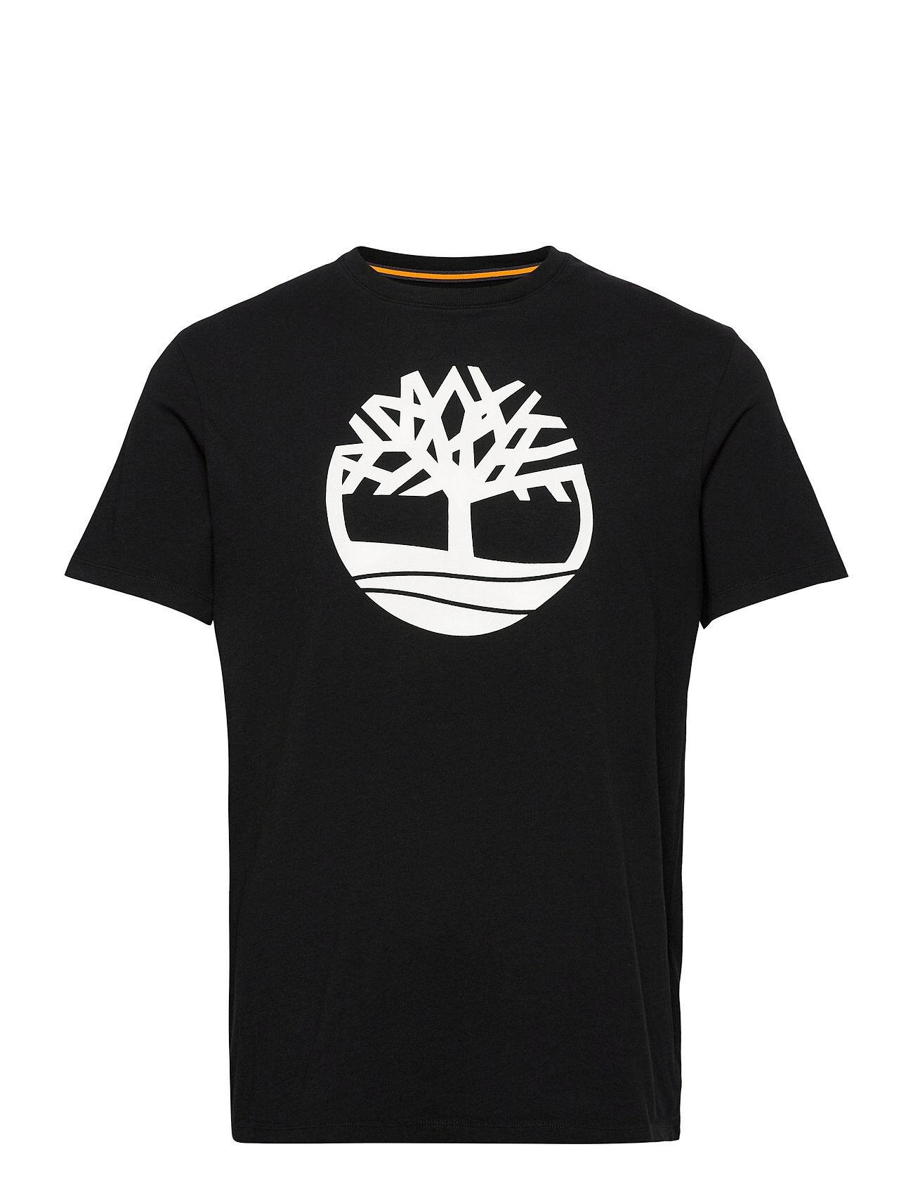 Timberland Ss K-R Brand Tree T Lyhythihainen Paita Musta Timberland